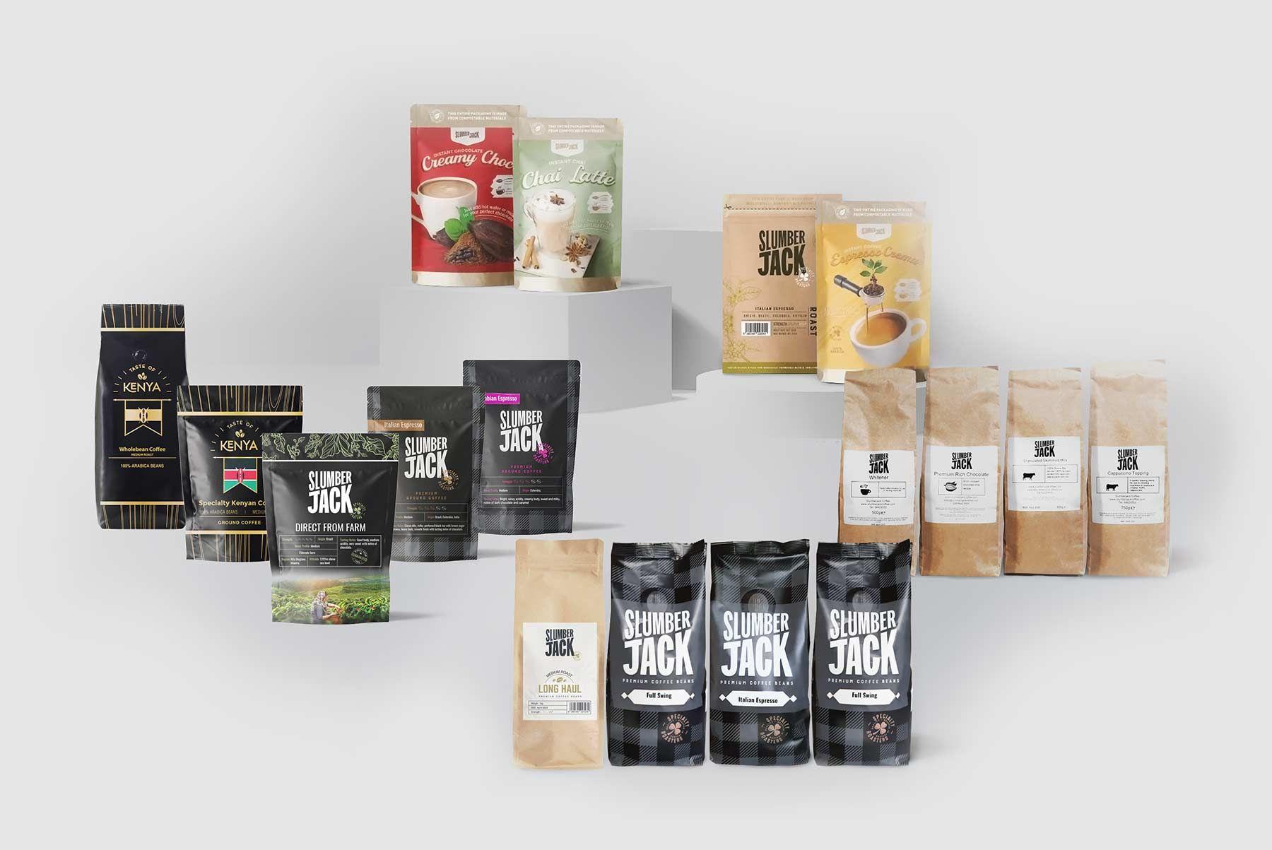 The range of slumberjack products