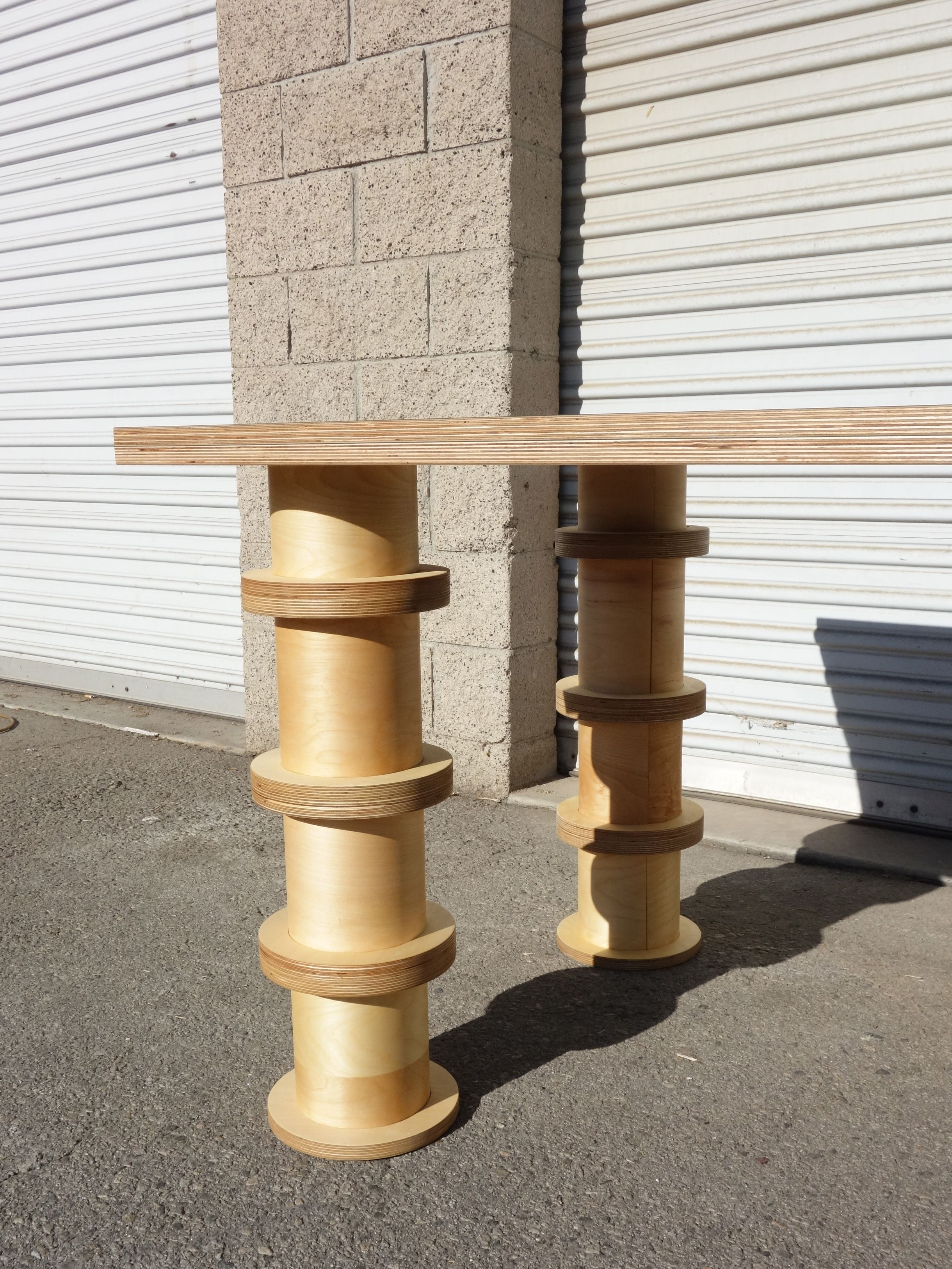 Column Leg Table product image 3