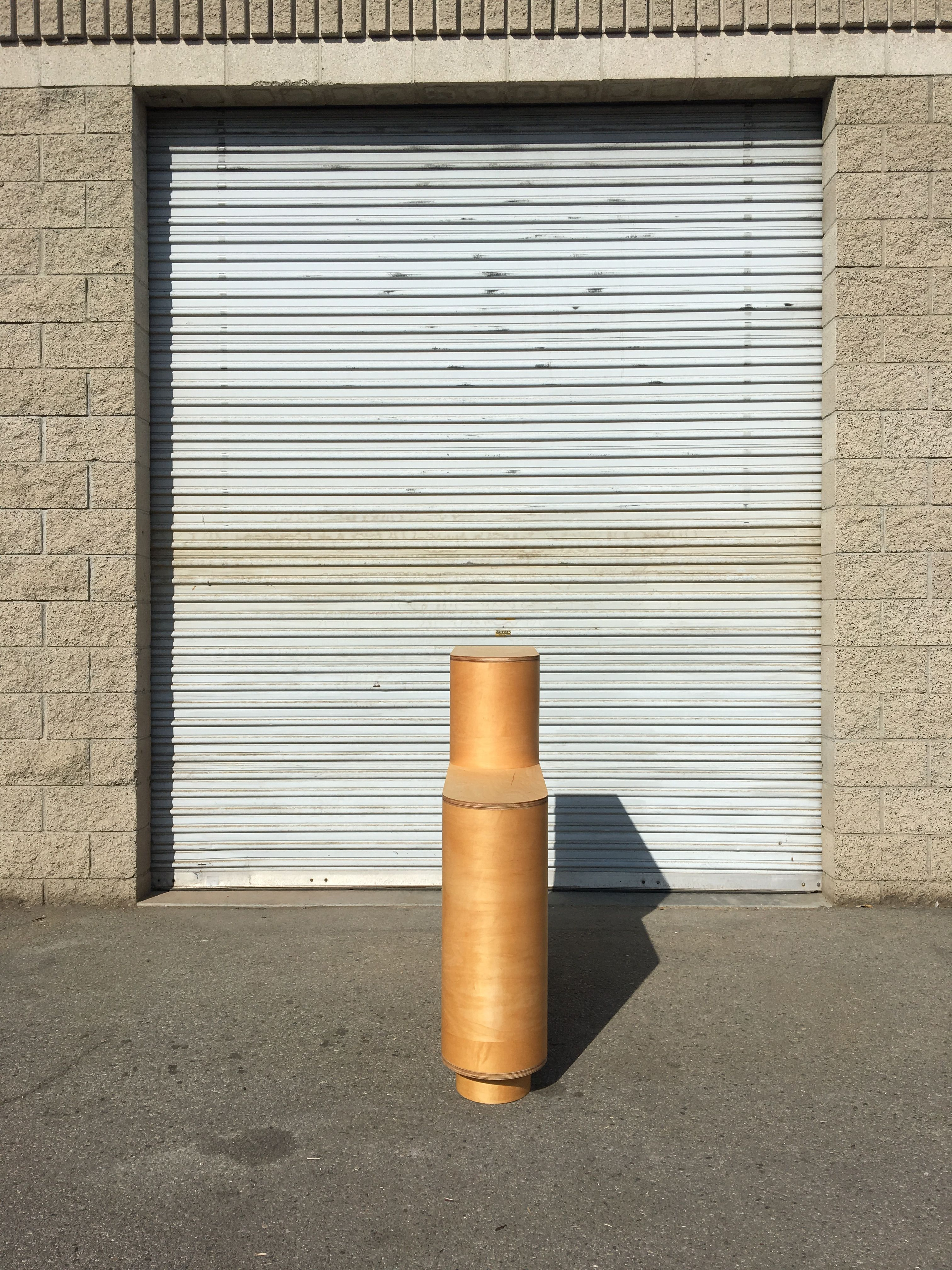 Tiered Half-Cylinder Storage Unit product image 2