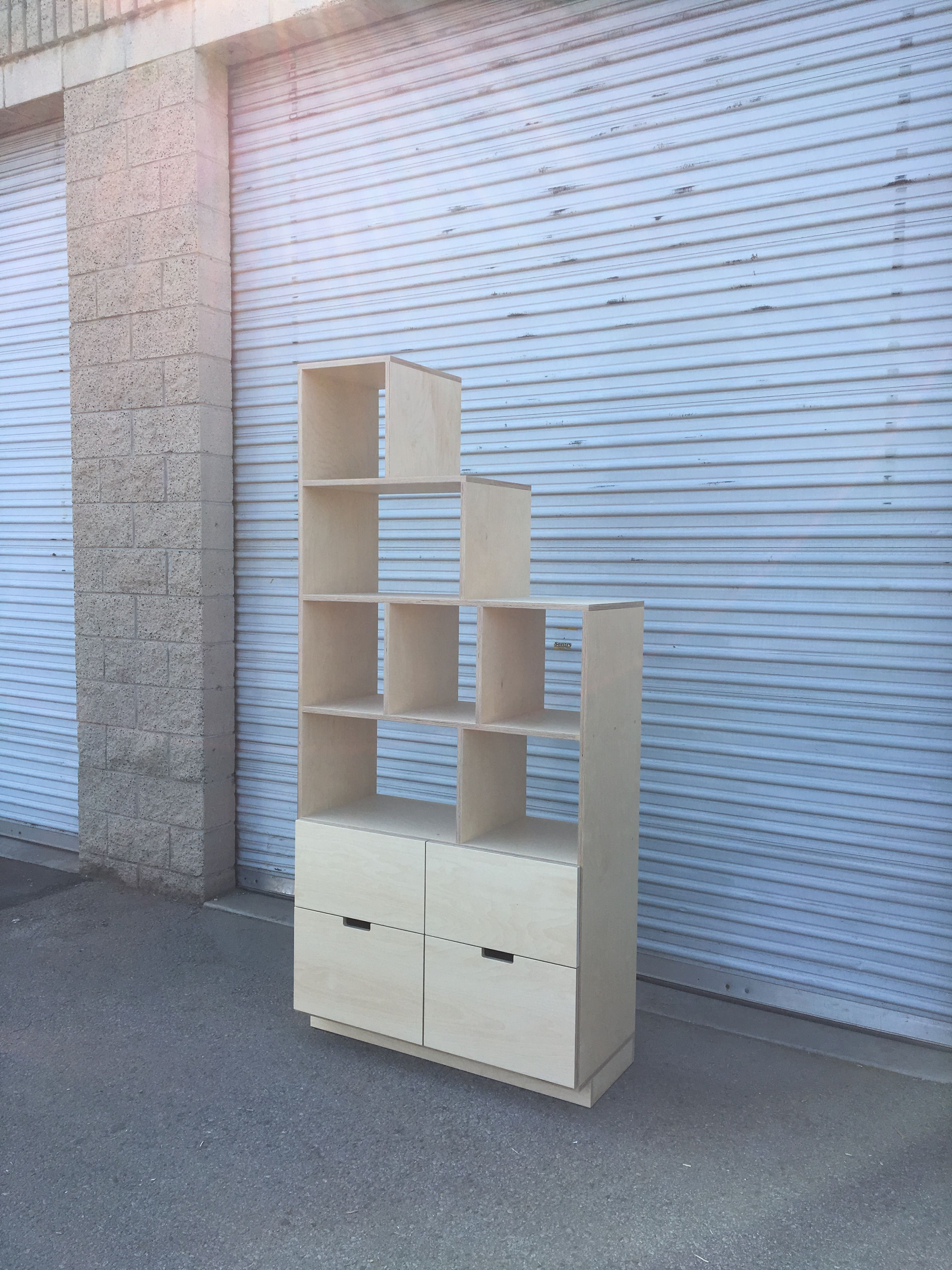Shelving Unit with Drawers product image 1