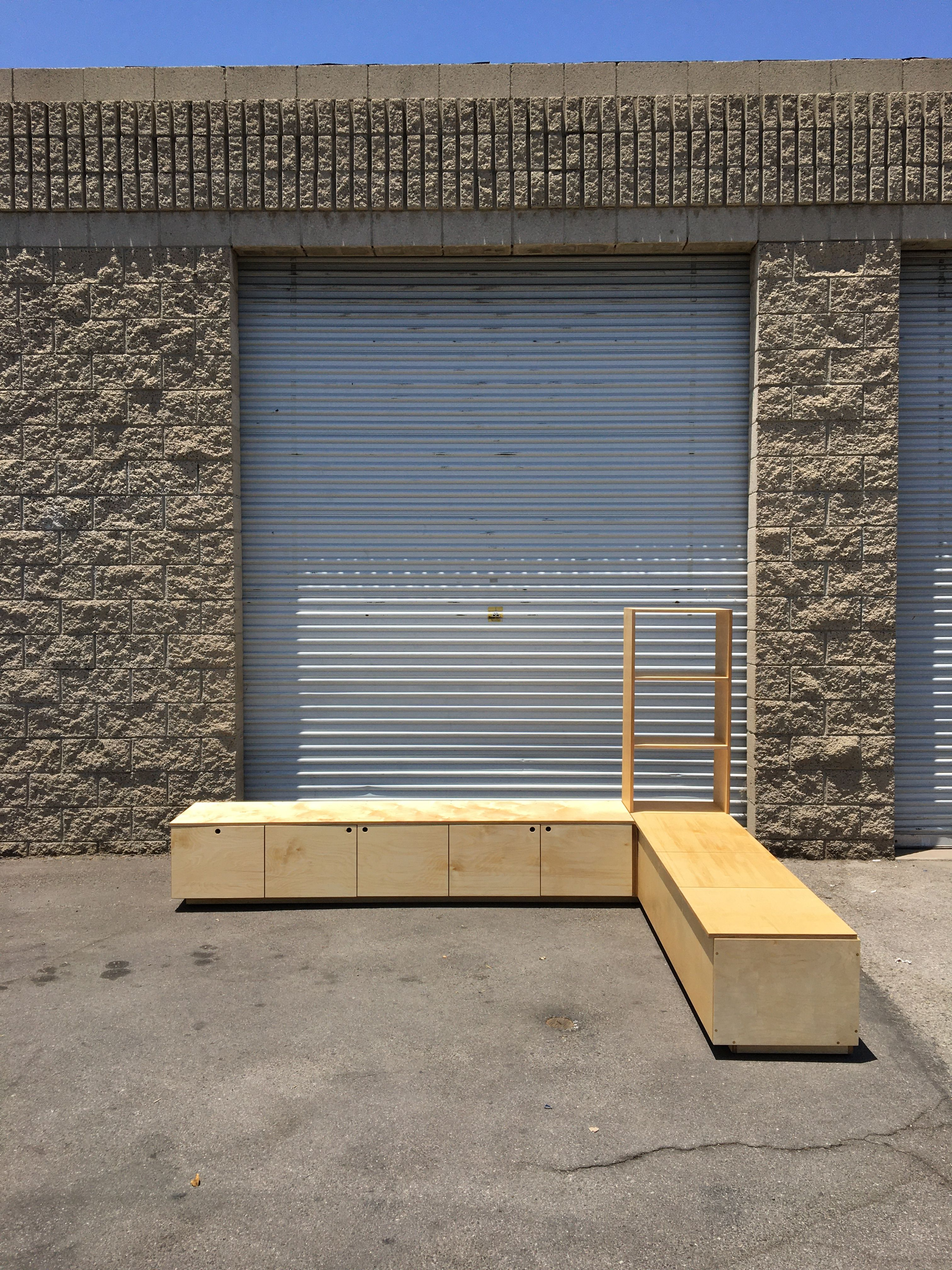 Corner Bench and Storage Unit product image 0