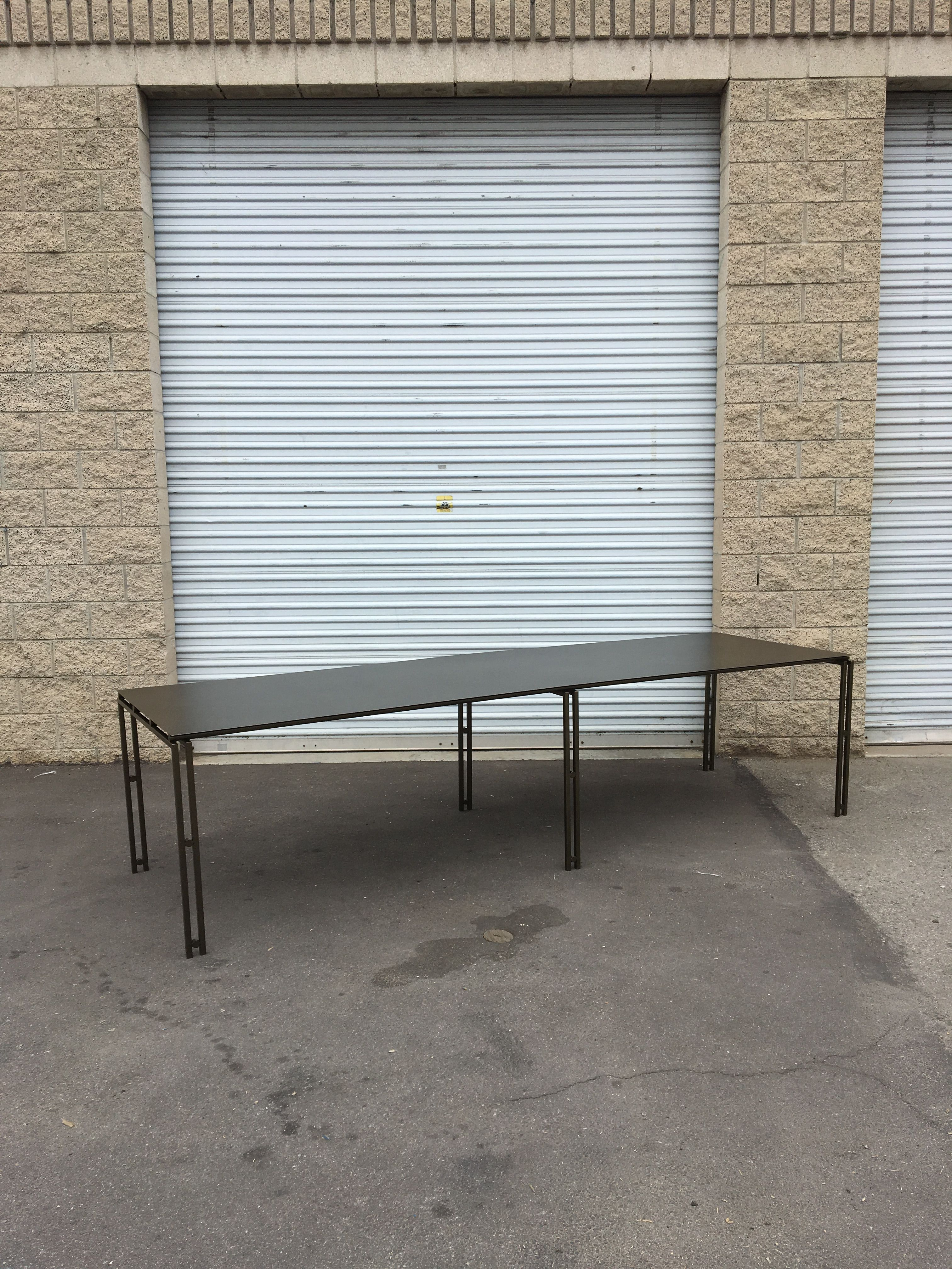 Suspension Metal Dining Table - Large Size product image 0