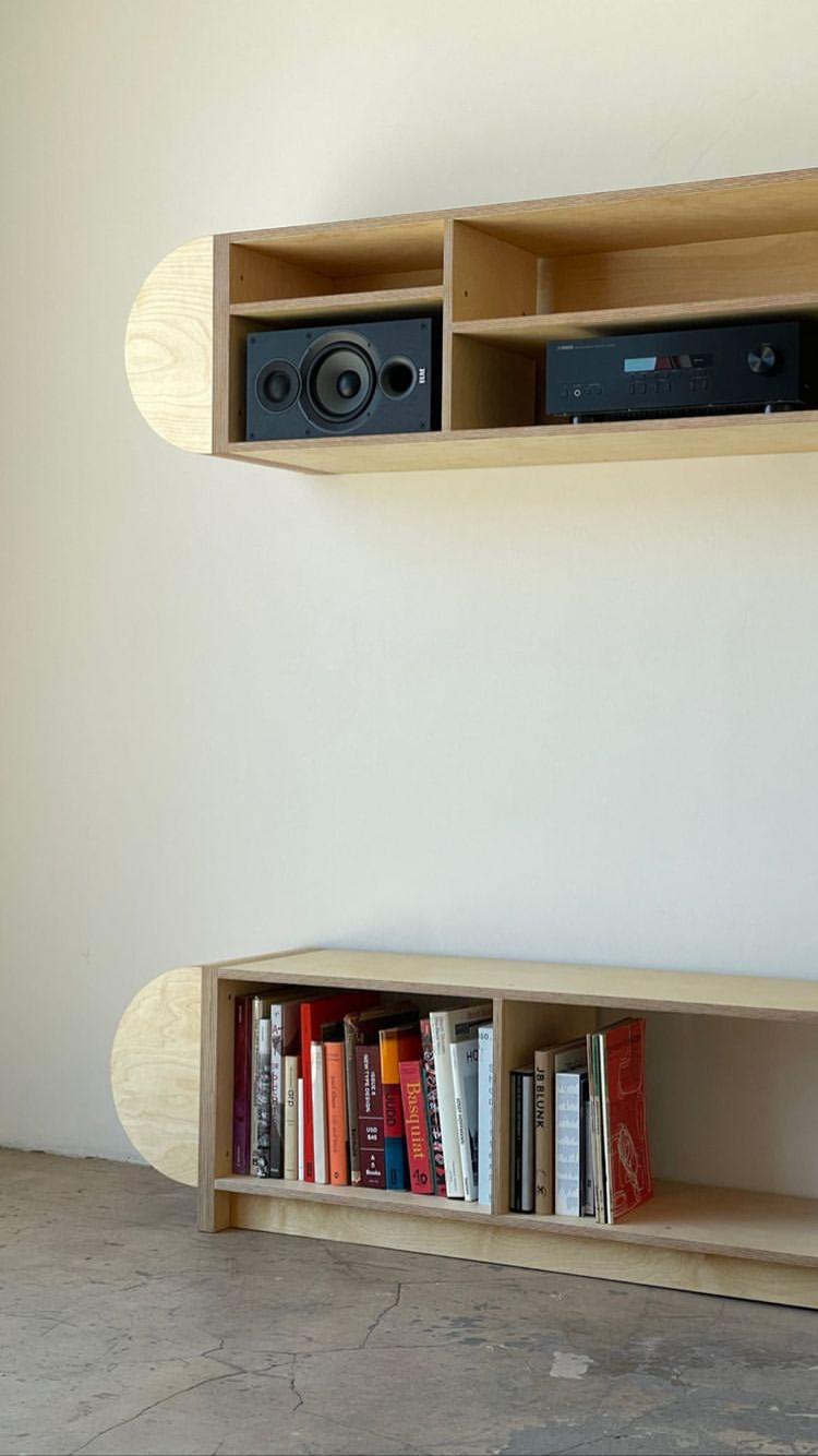 Half Round Storage Unit - Mouthwash Studio product image 7