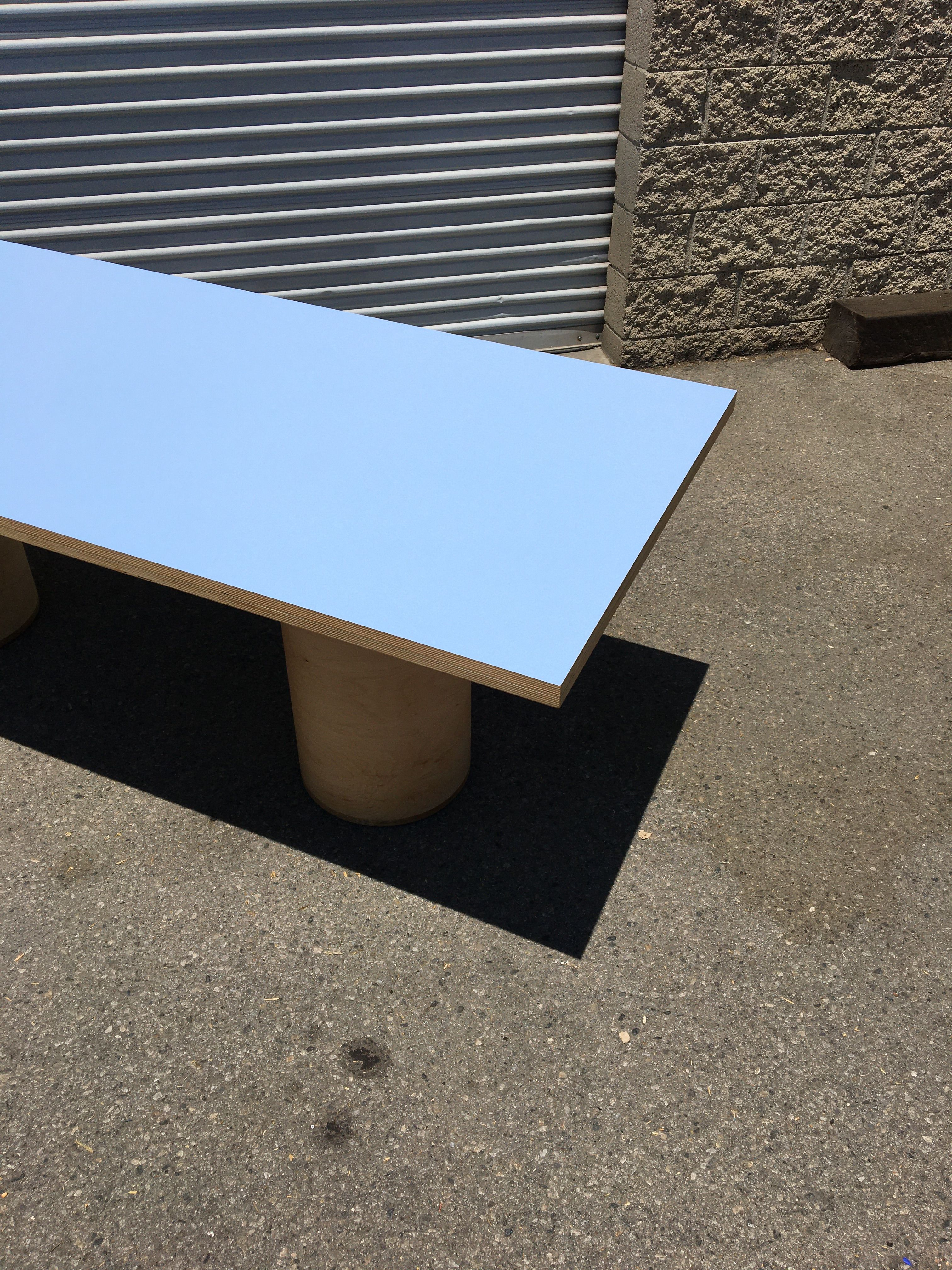 Cylinder Leg Dining Table product image 2