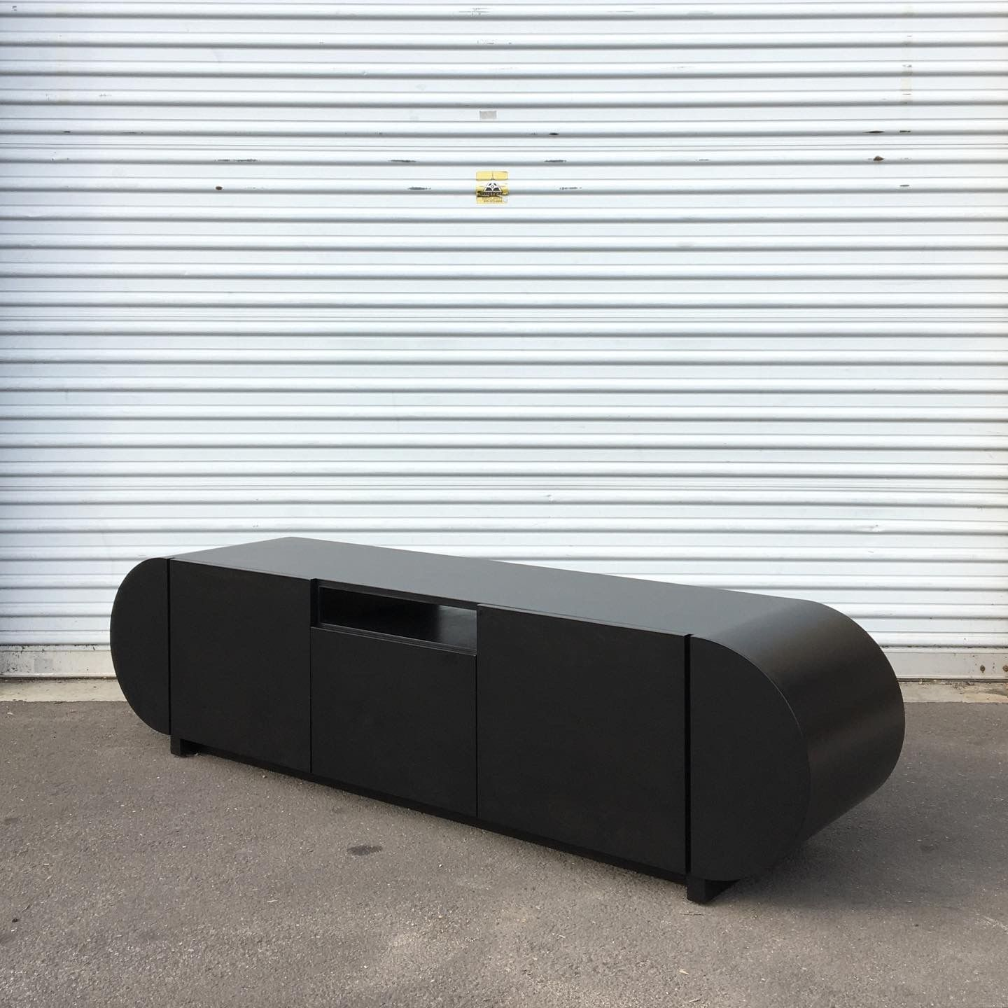 Black Stained Credenza product image 0