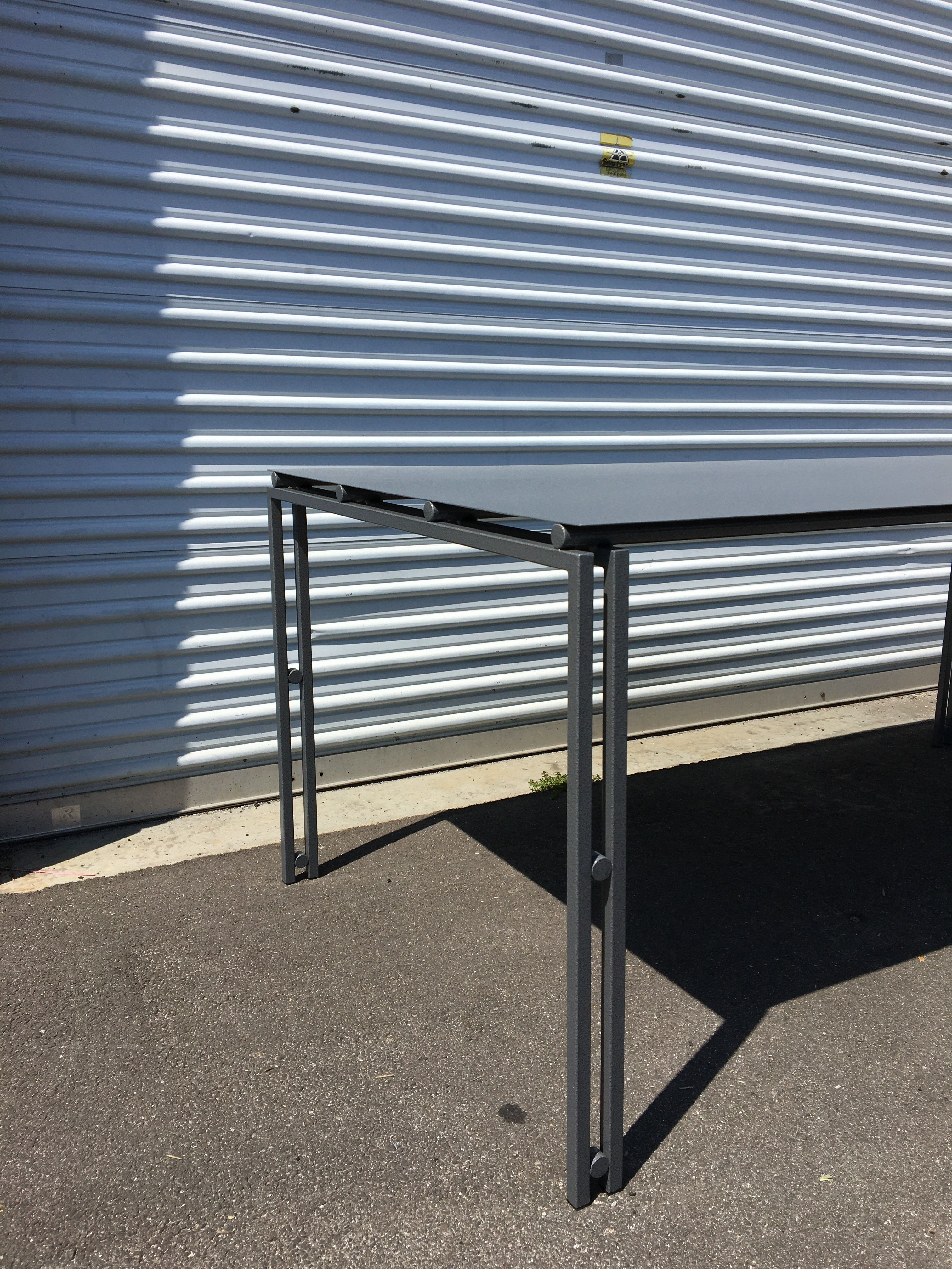 Suspension Metal Dining Table - Mid Size product image 5