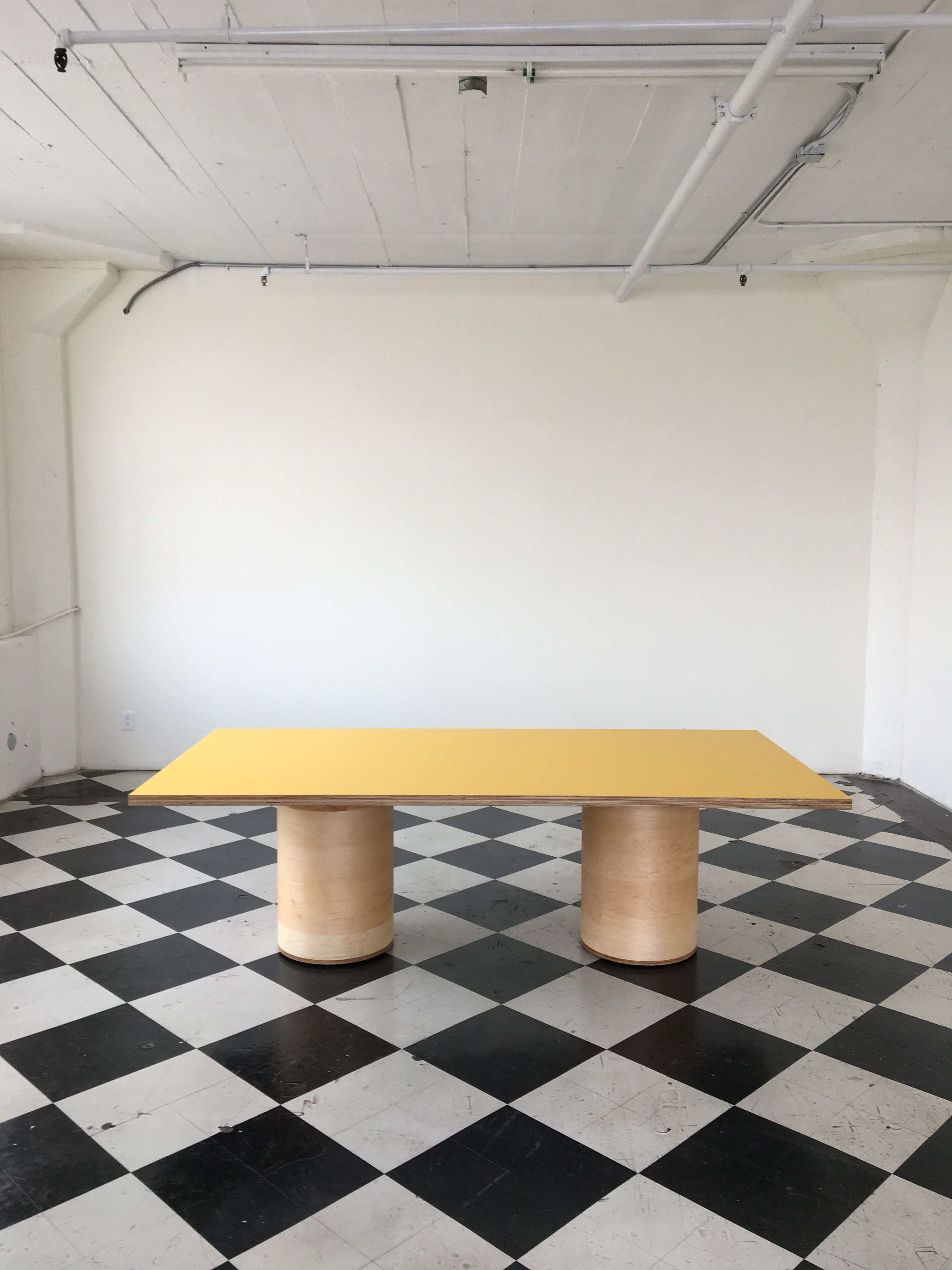 Two Cylinder Conference Table product image 0