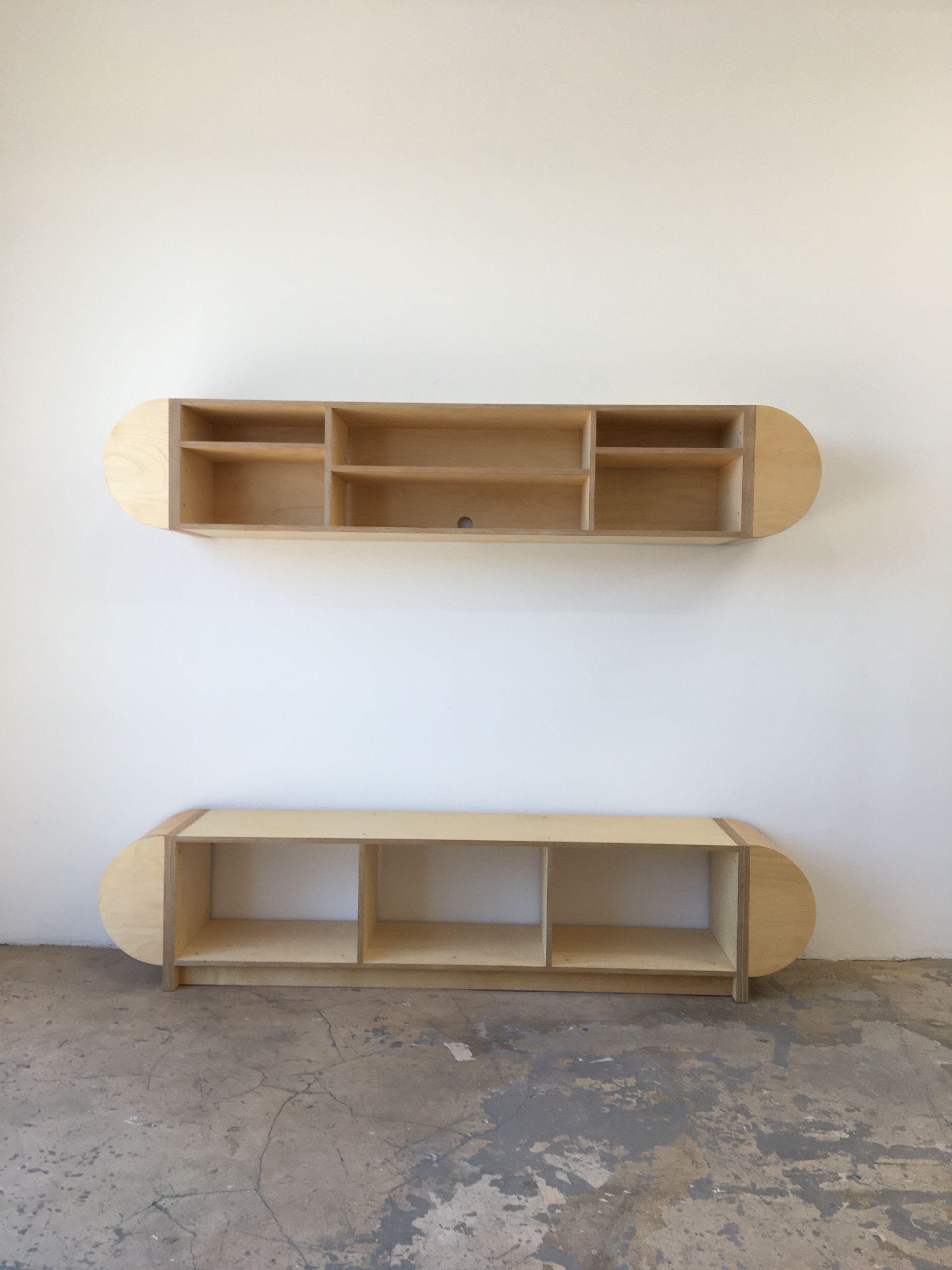 Half Round Storage Unit - Mouthwash Studio product image 0