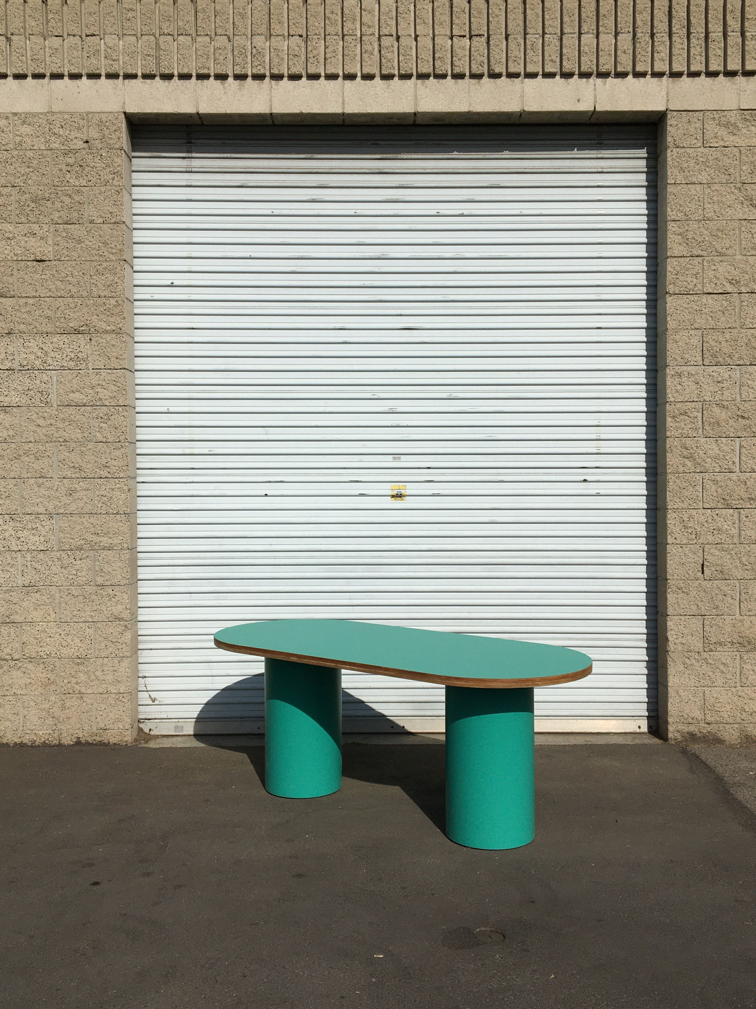 Pill-shaped Dining Table product image 0
