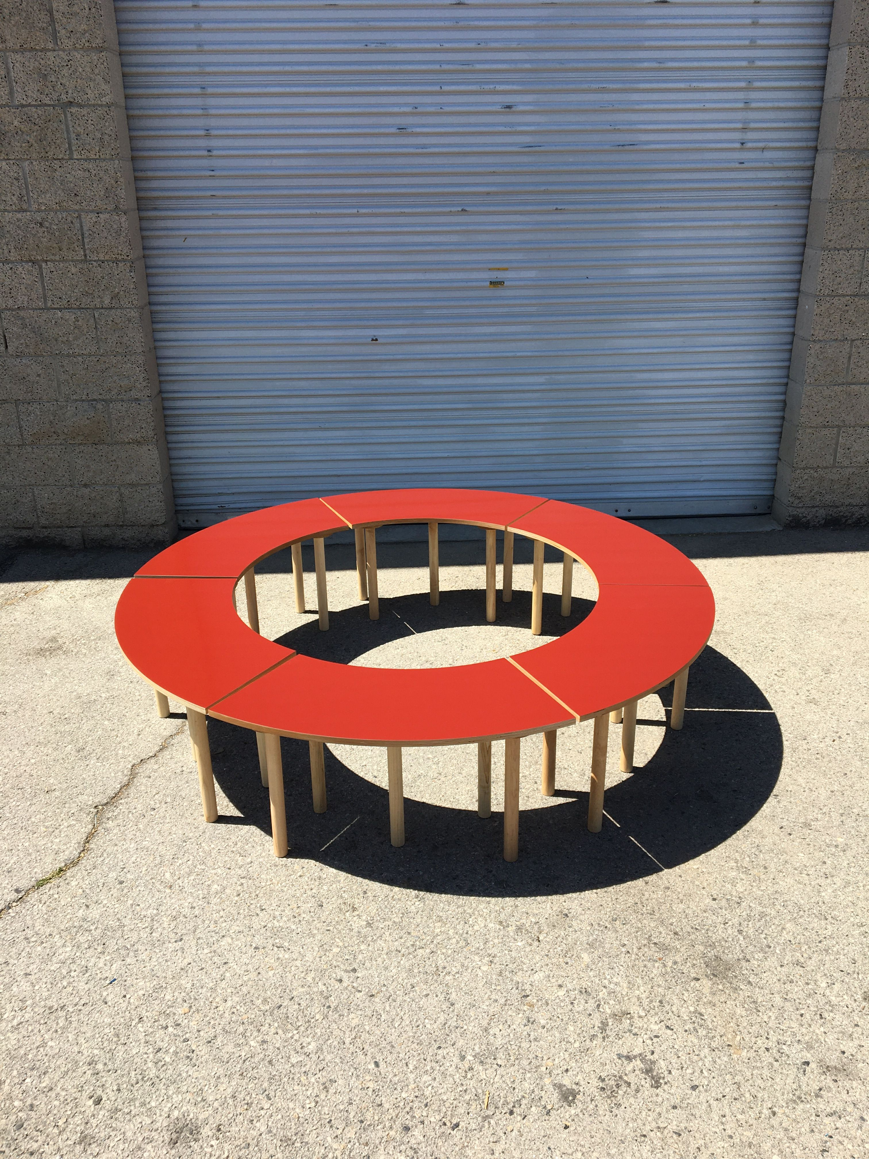 Circle Table + Bench Set product image 14