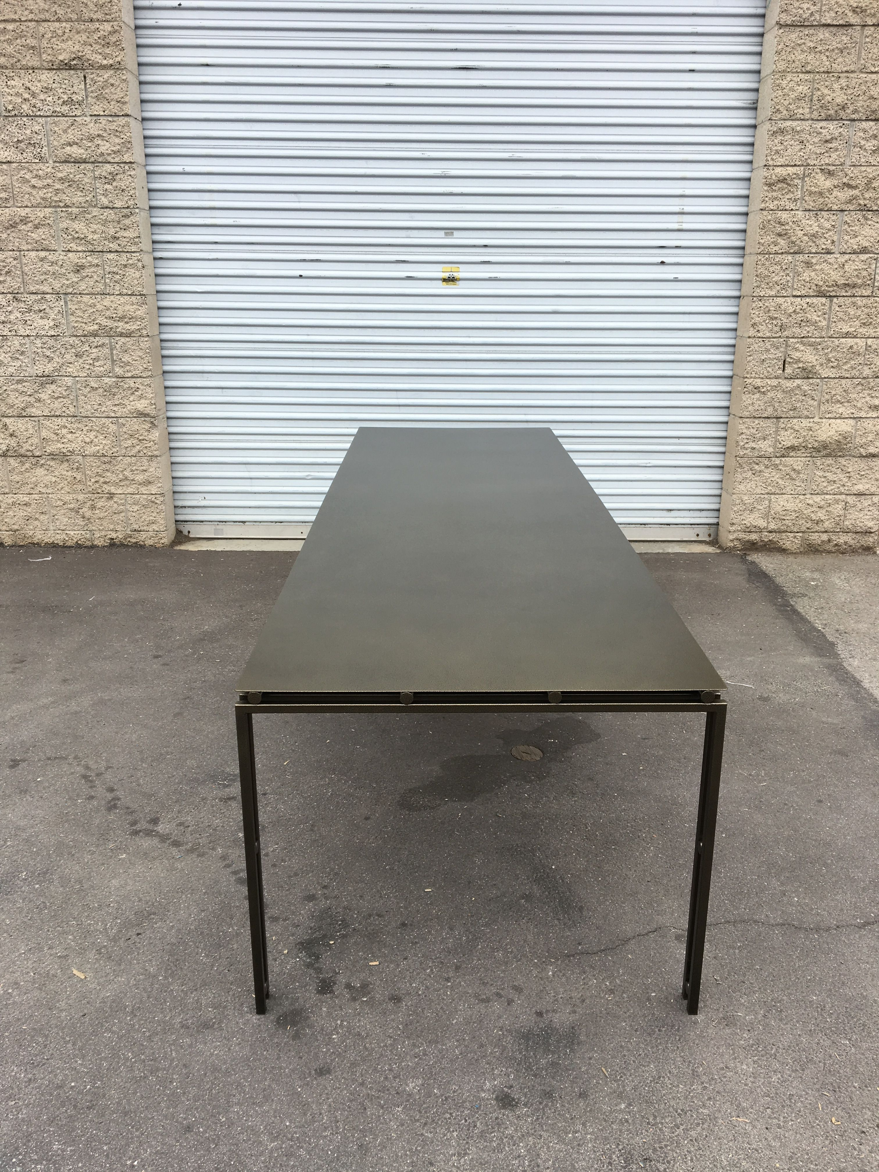 Suspension Metal Dining Table - Large Size product image 1