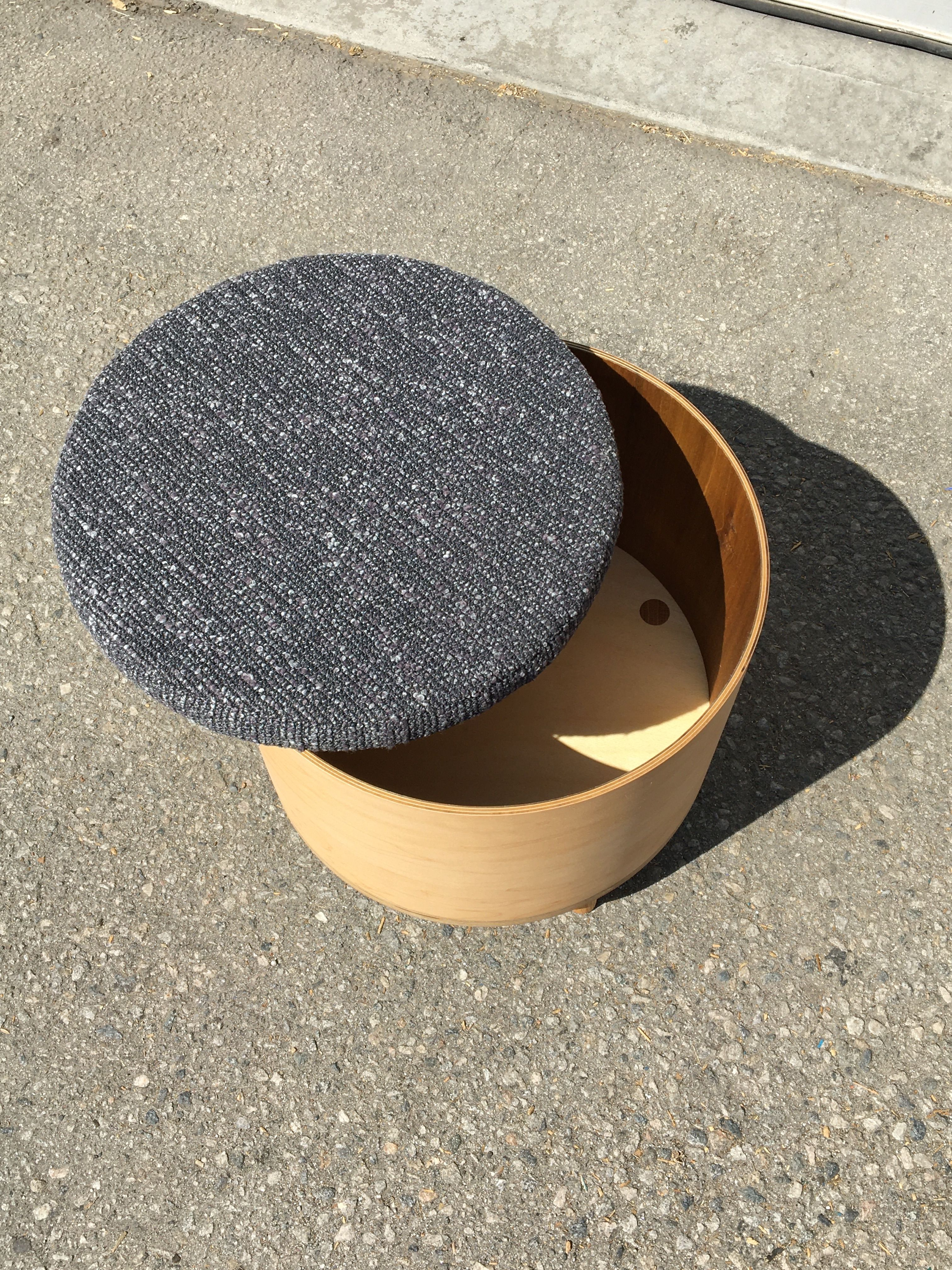 Upholstered Cartridge Table product image 2