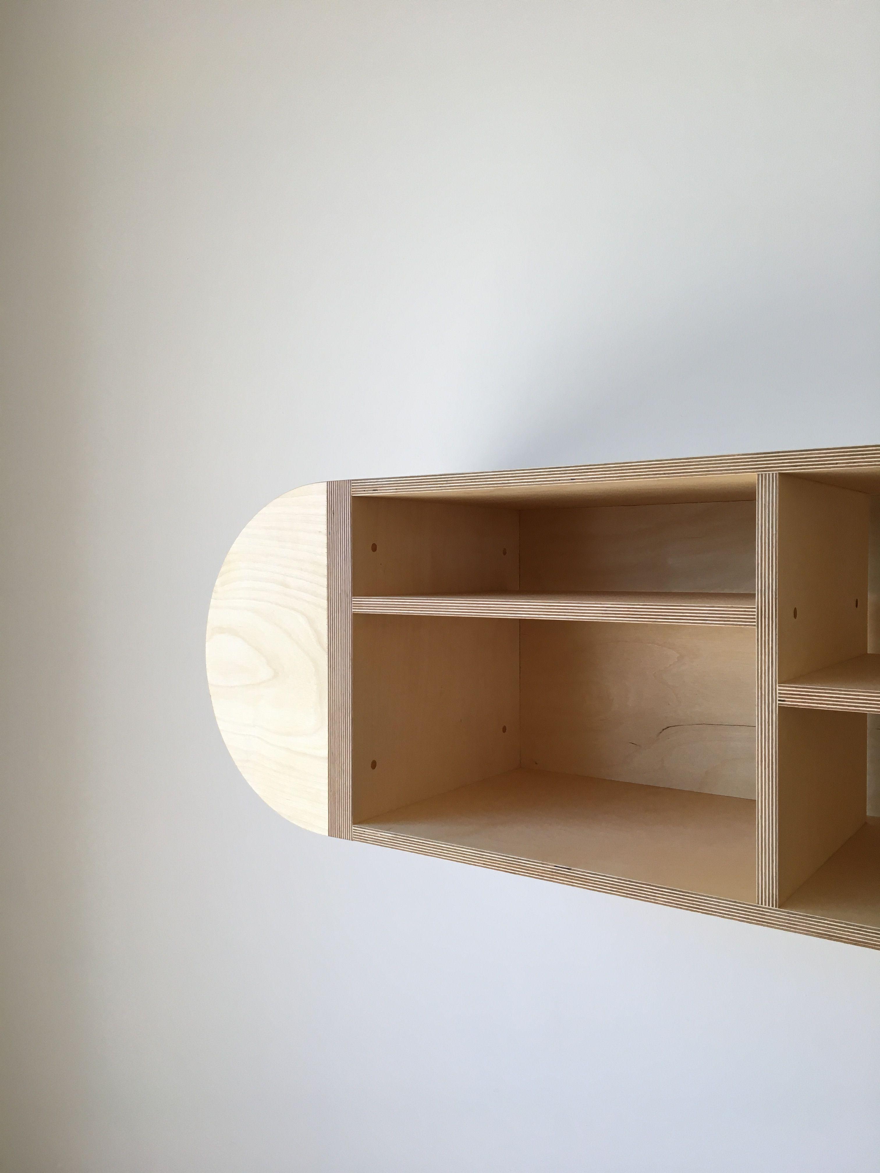 Half Round Storage Unit - Mouthwash Studio product image 6