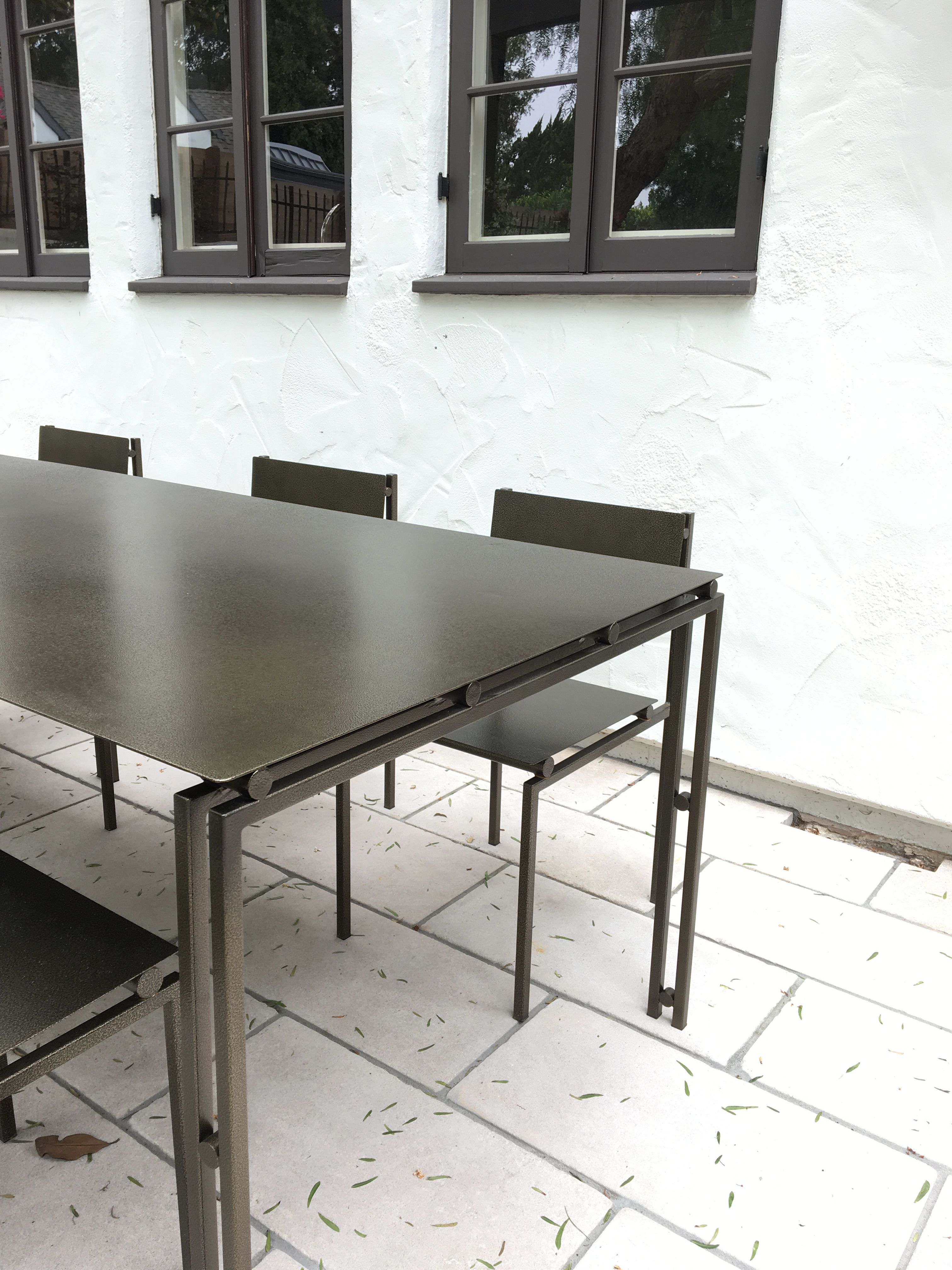Suspension Metal Dining Table - Large Size product image 8