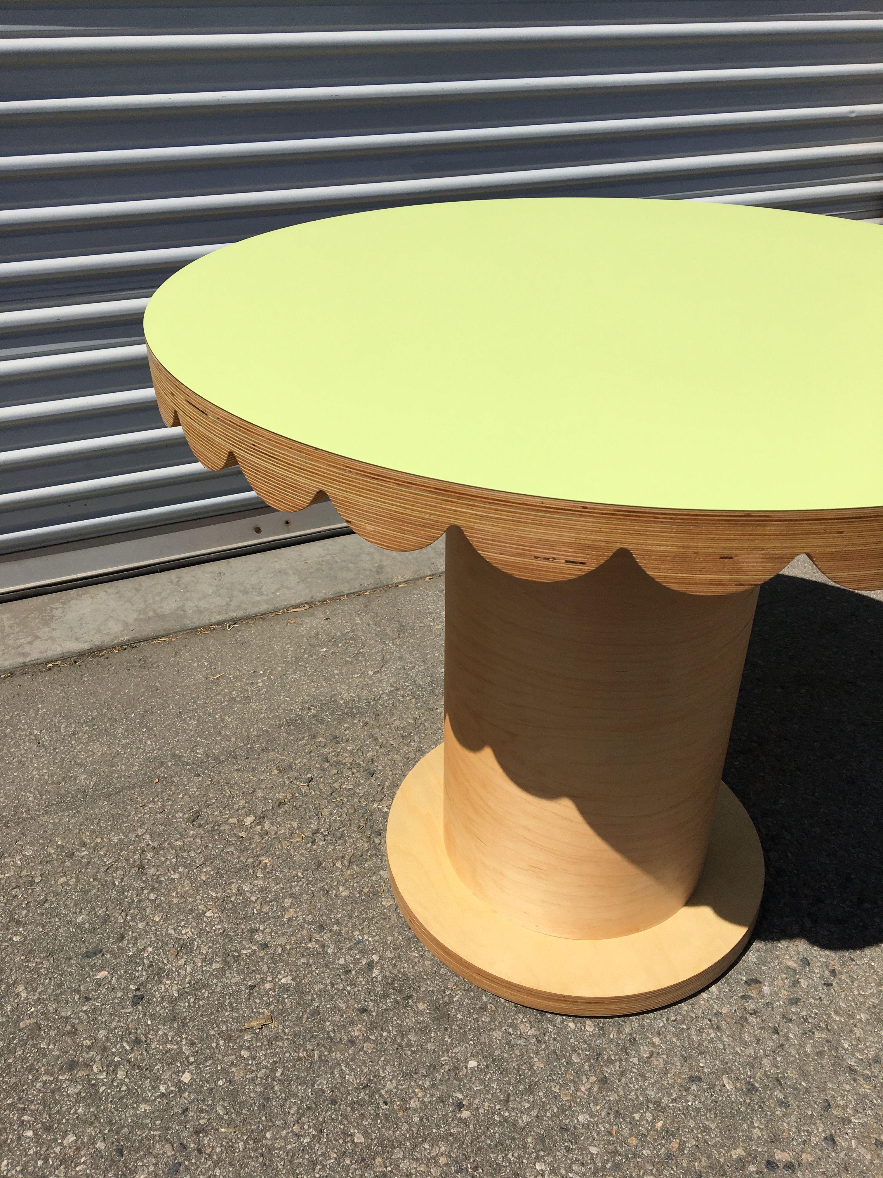 Scallop Skirt Table II product image 1