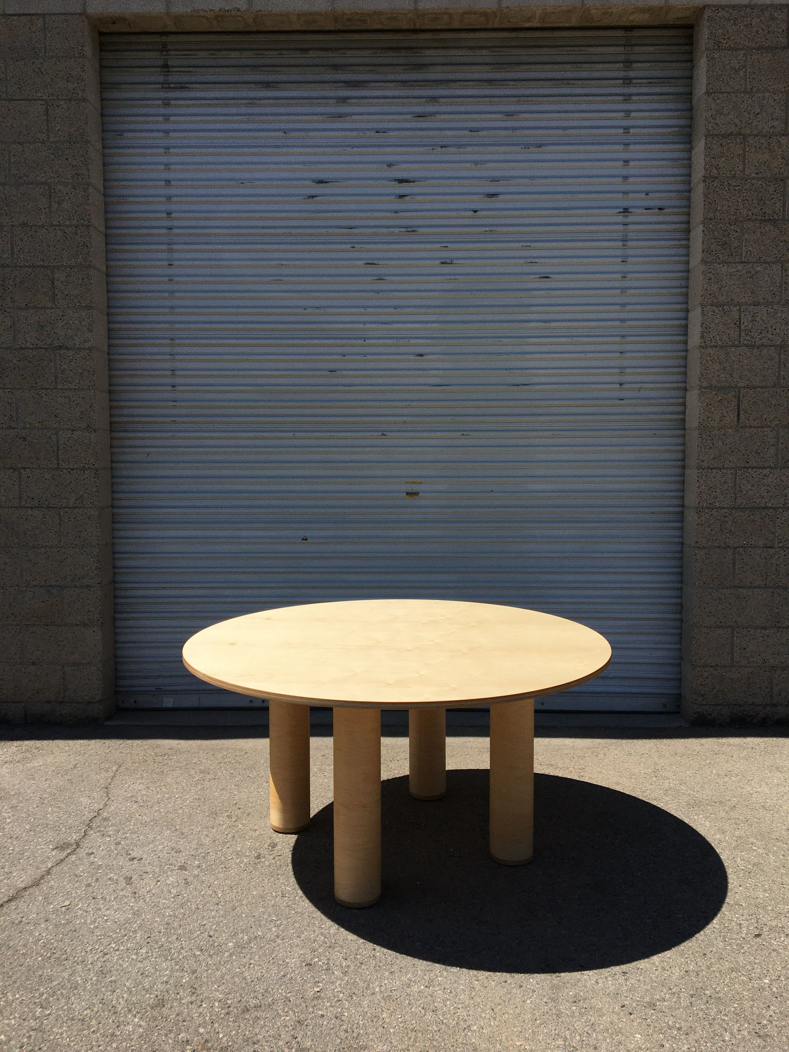 Circle Table + Bench Set product image 7