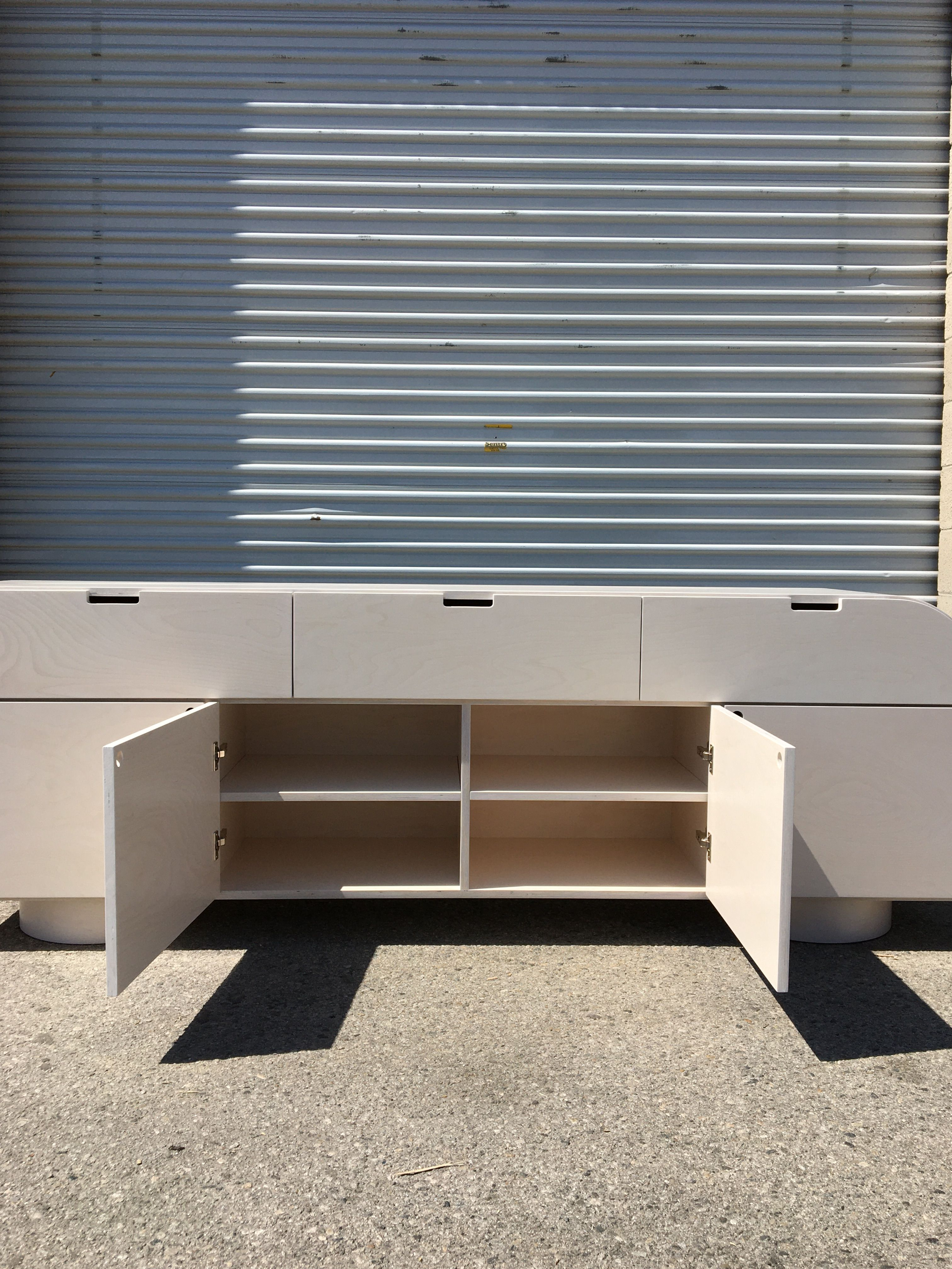 White Stain Credenza product image 7