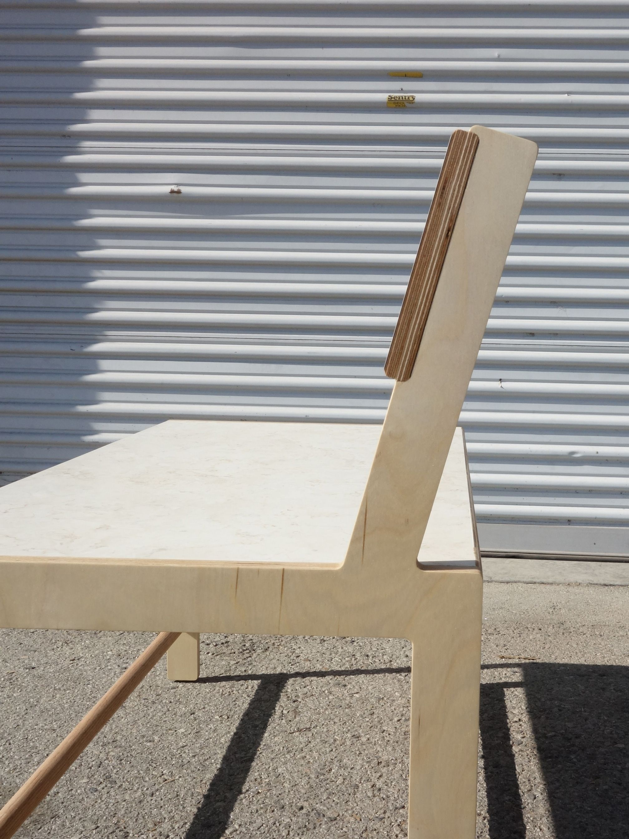 Slanted Back Bench product image 7
