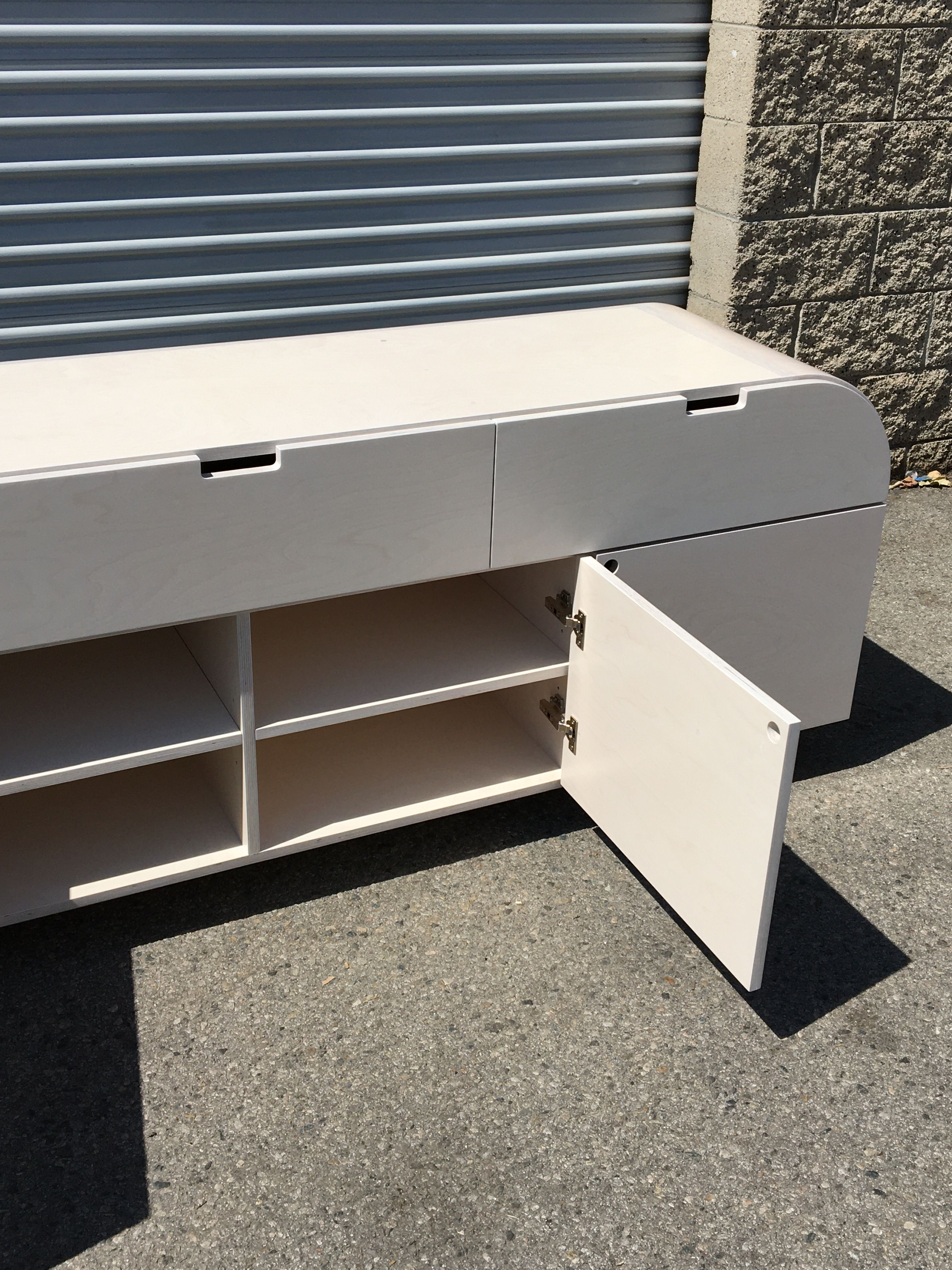 White Stain Credenza product image 8