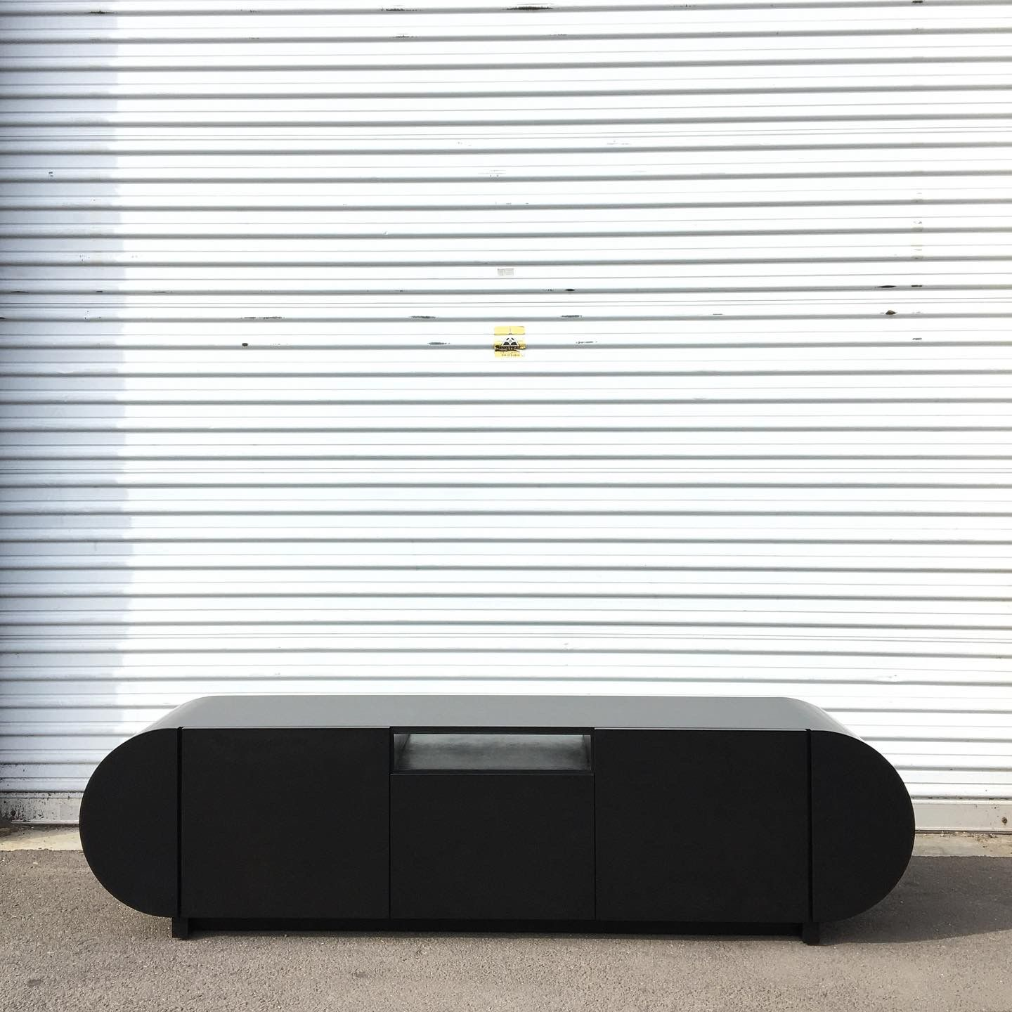 Black Stained Credenza product image 2