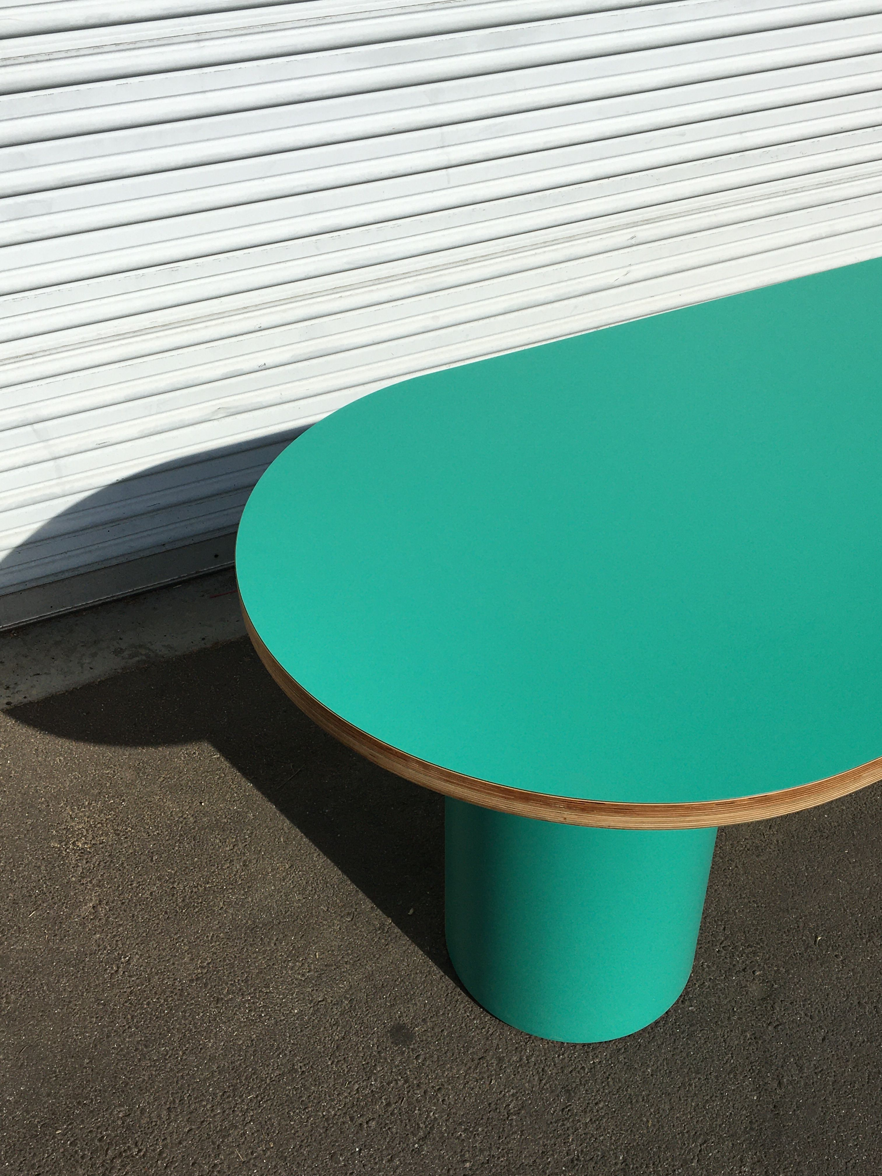 Pill-shaped Dining Table product image 3