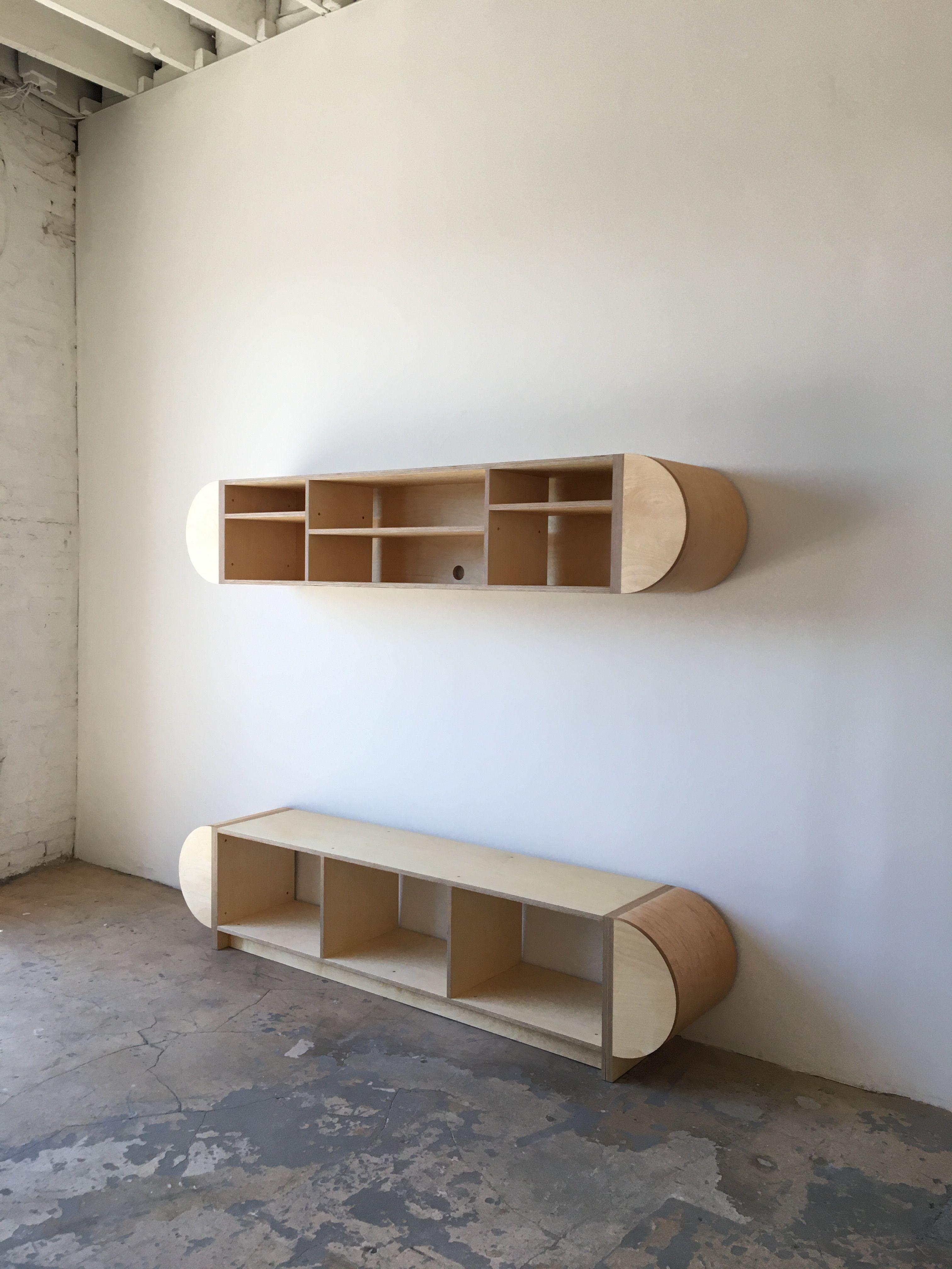 Half Round Storage Unit - Mouthwash Studio product image 1