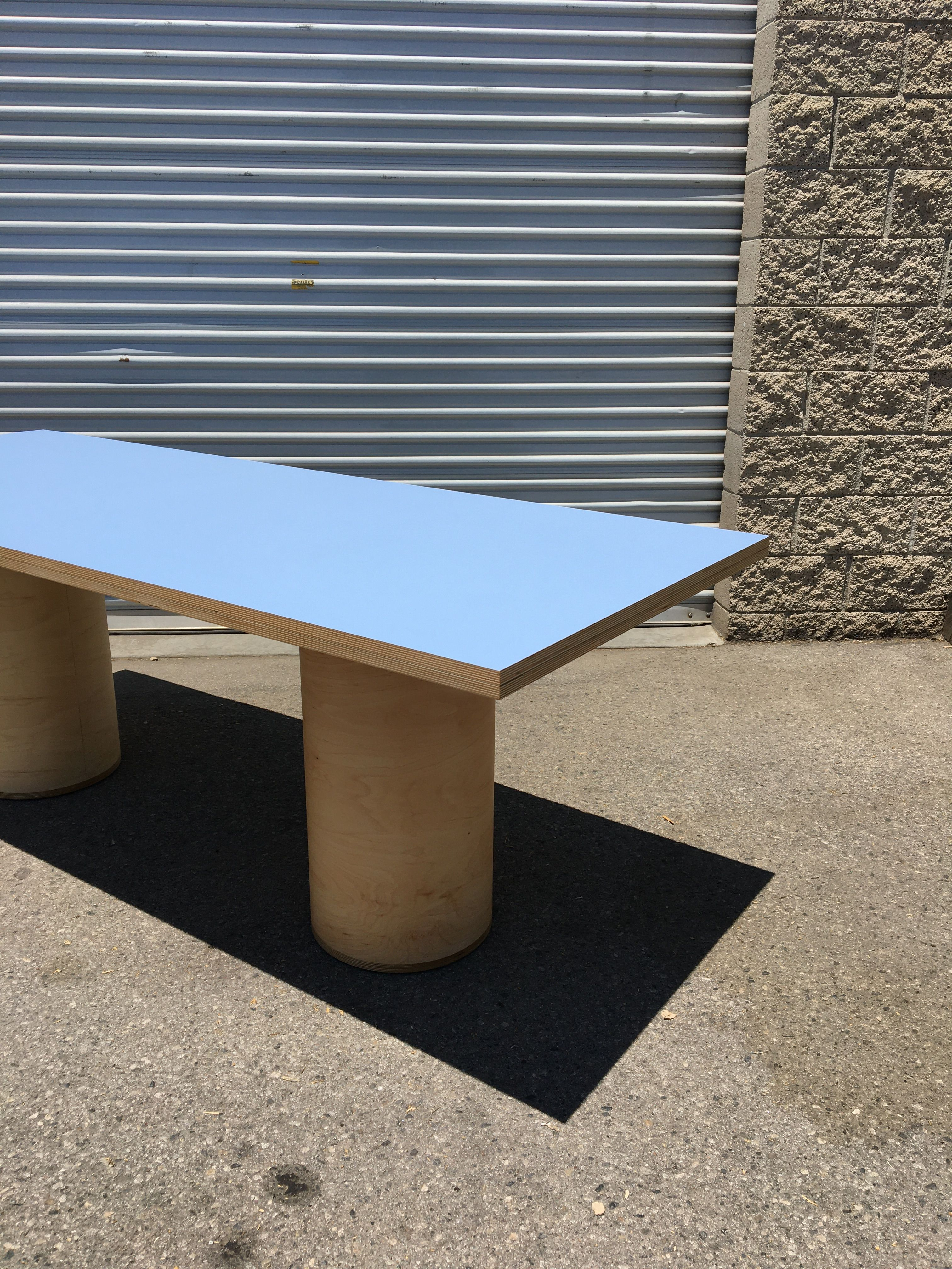 Cylinder Leg Dining Table product image 4