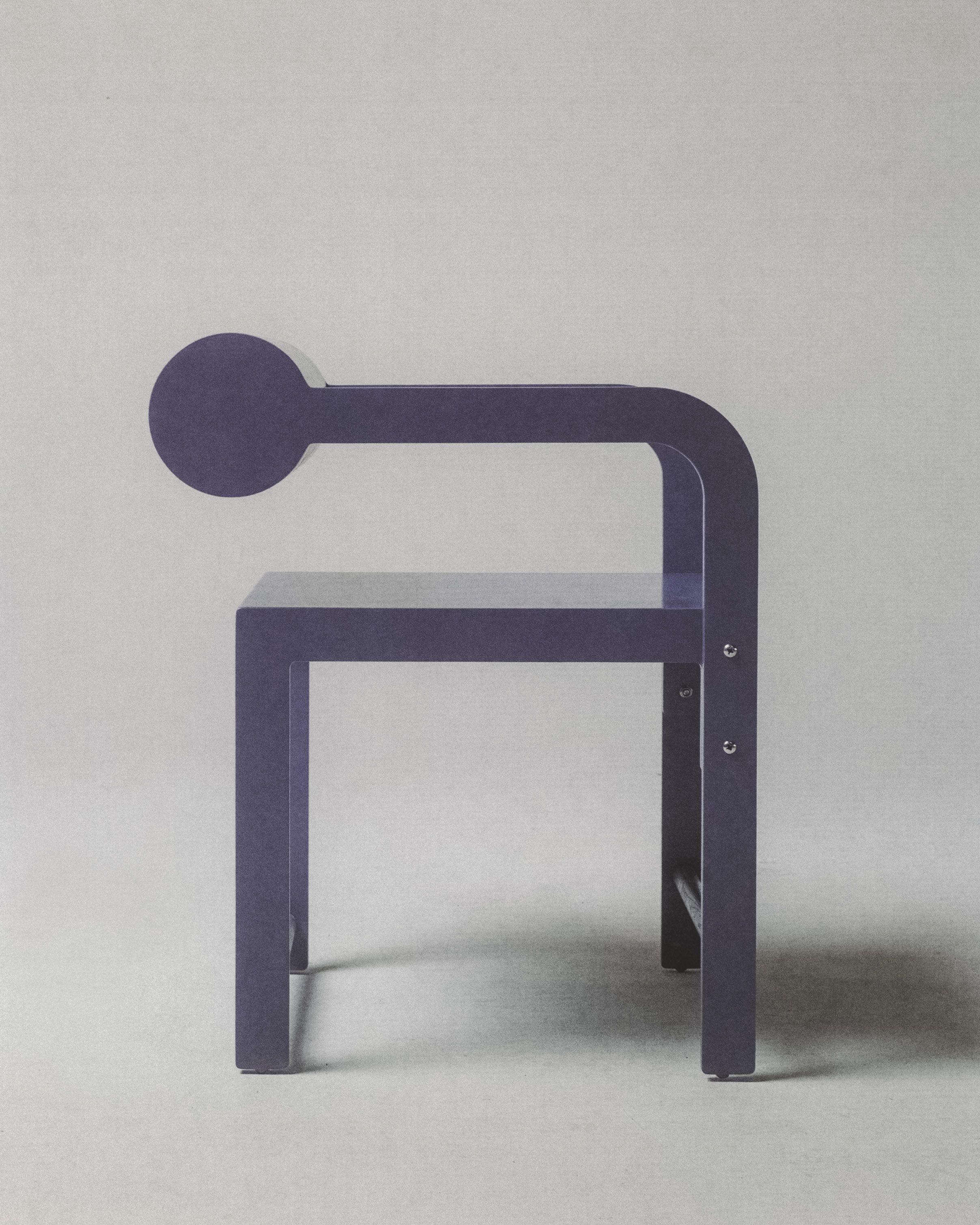 Purple Cylinder Back Arm product image 4