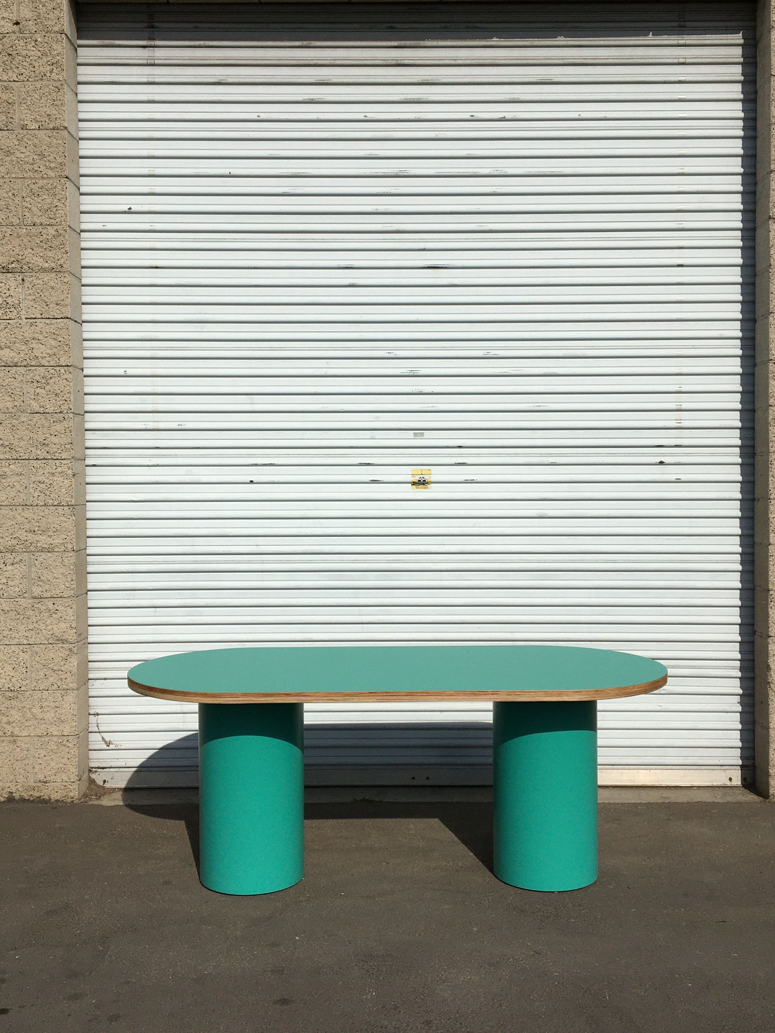 Pill-shaped Dining Table product image 2