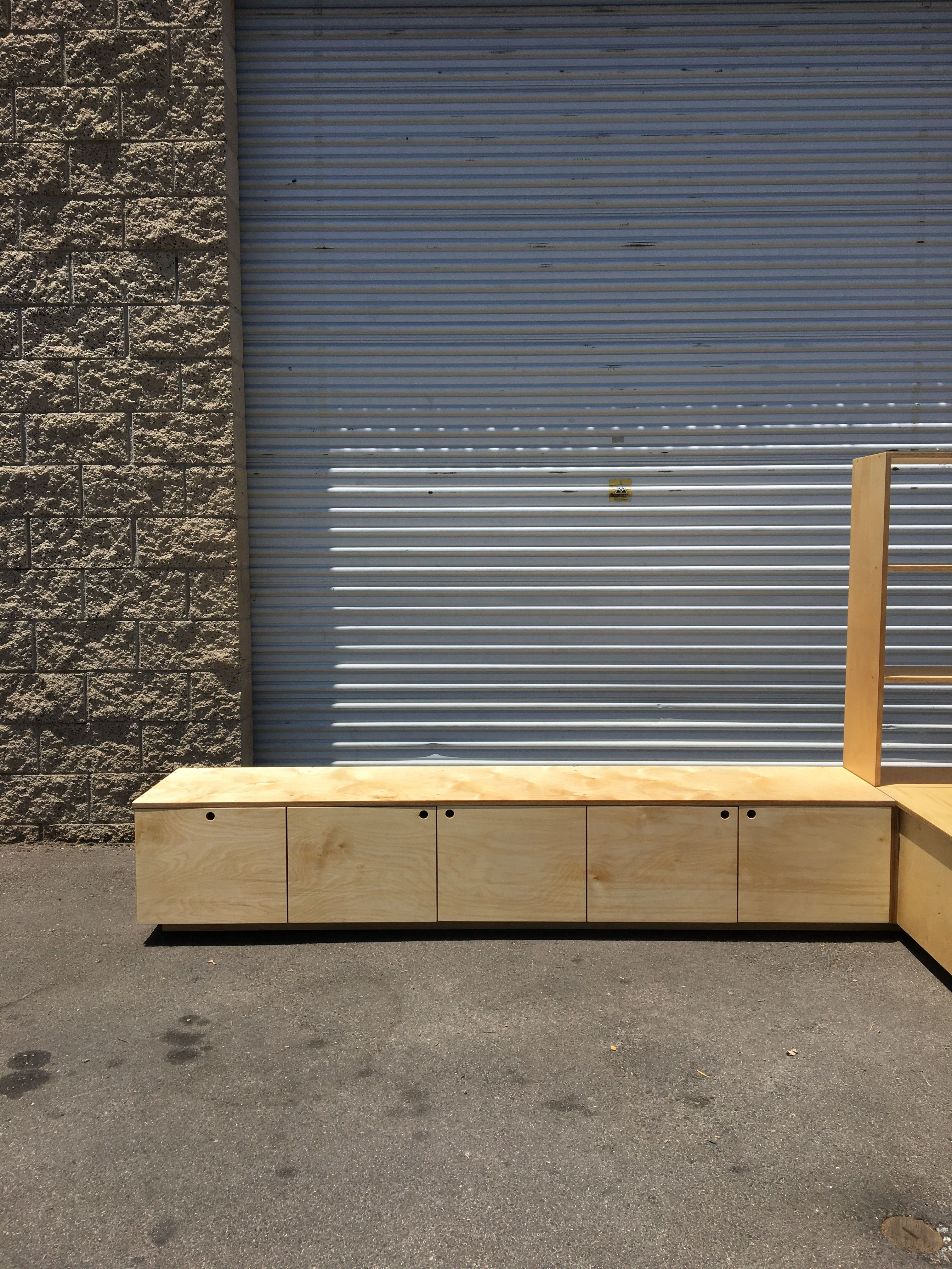 Corner Bench and Storage Unit product image 2