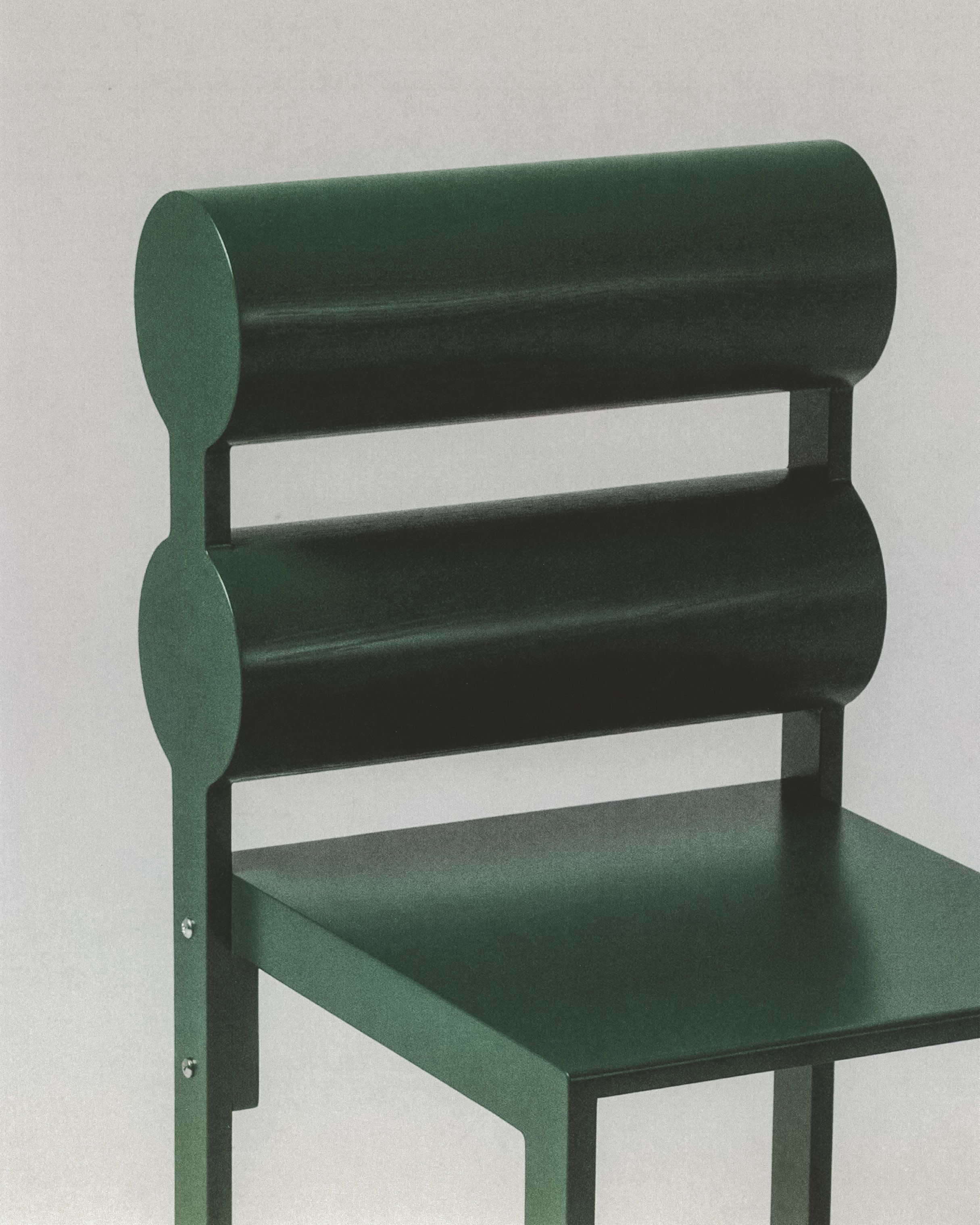 Green Double Cylinder Back product image 0