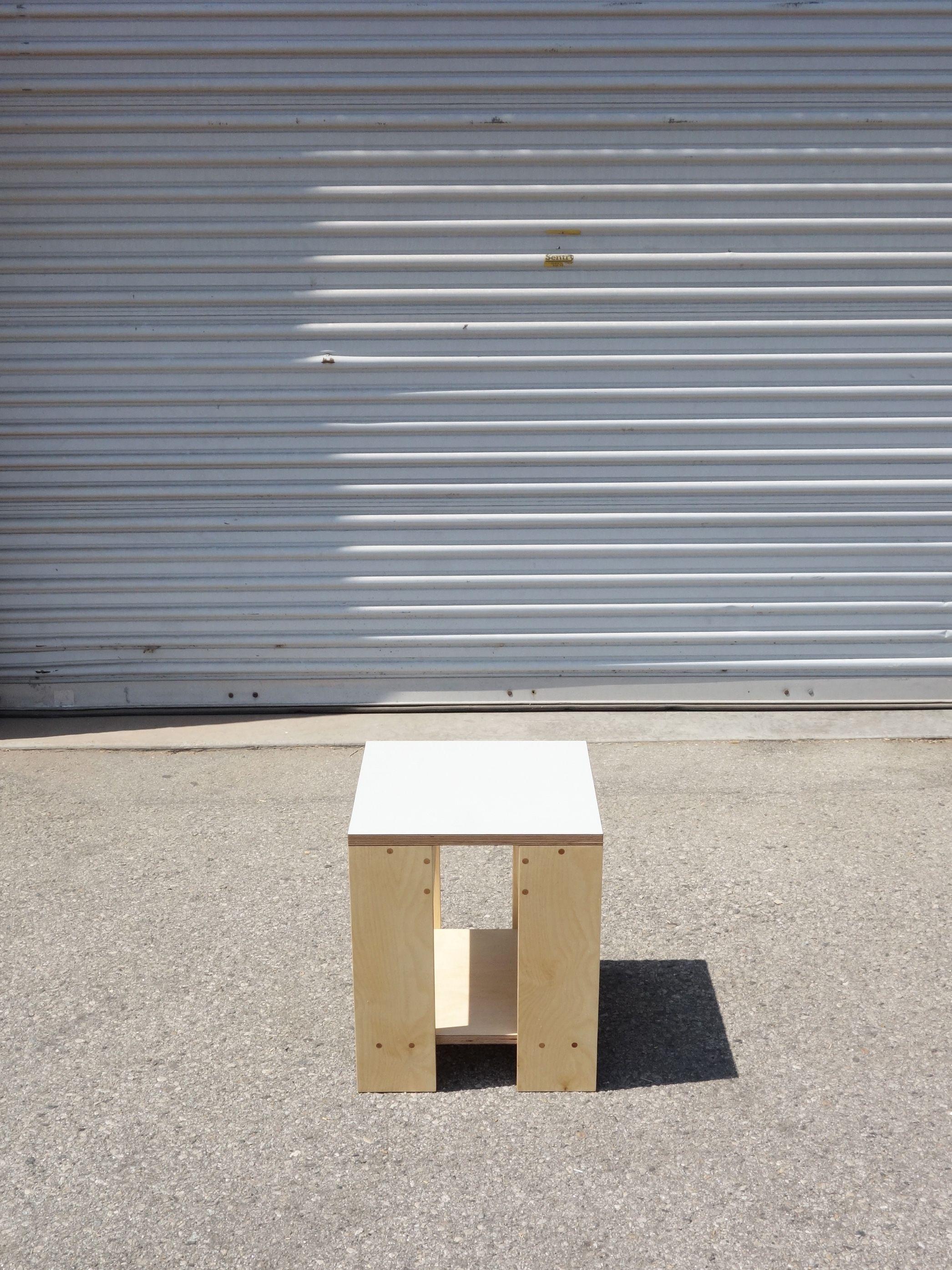 Square Shelf Stool product image 2