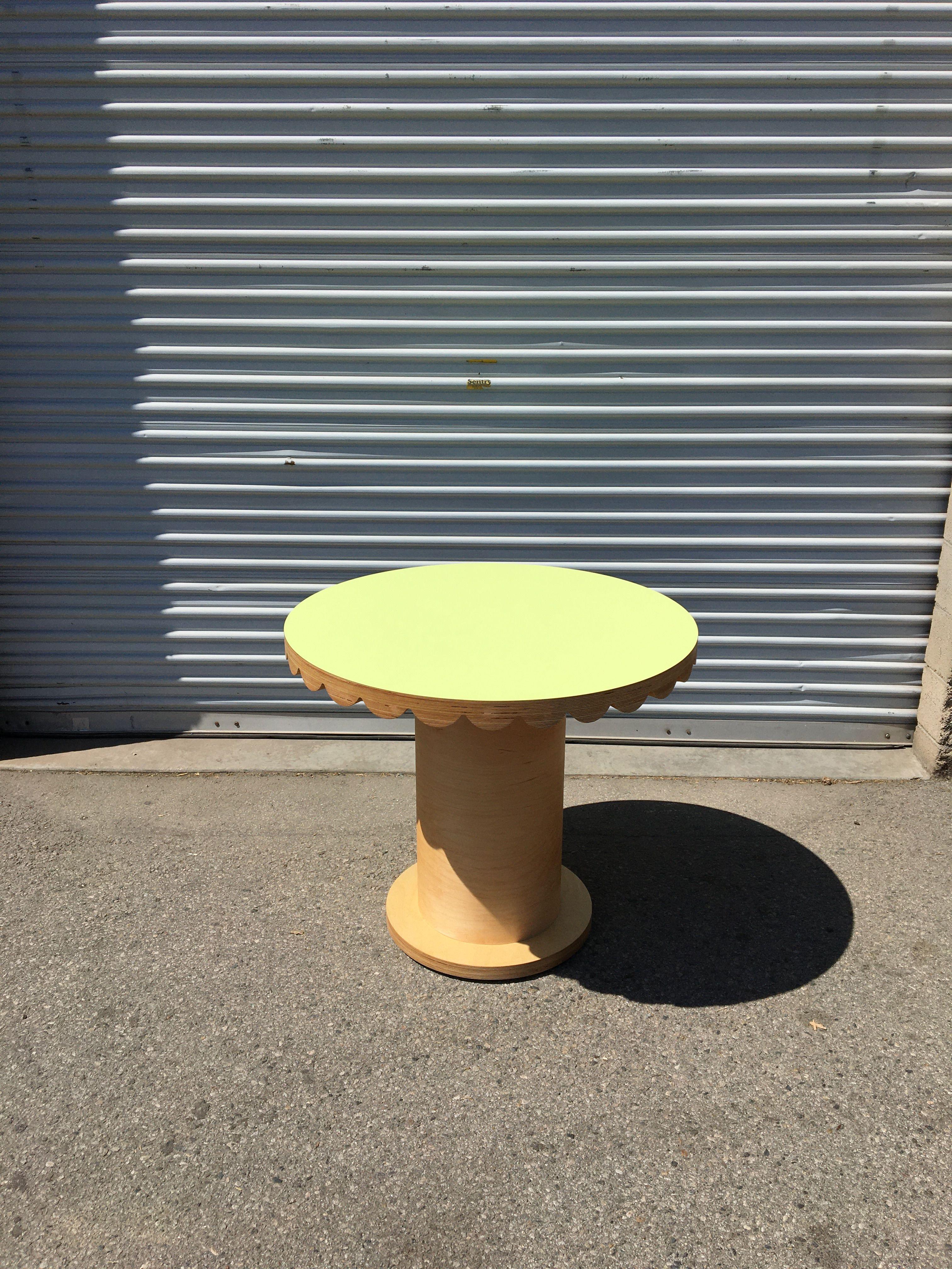 Scallop Skirt Table II product image 0