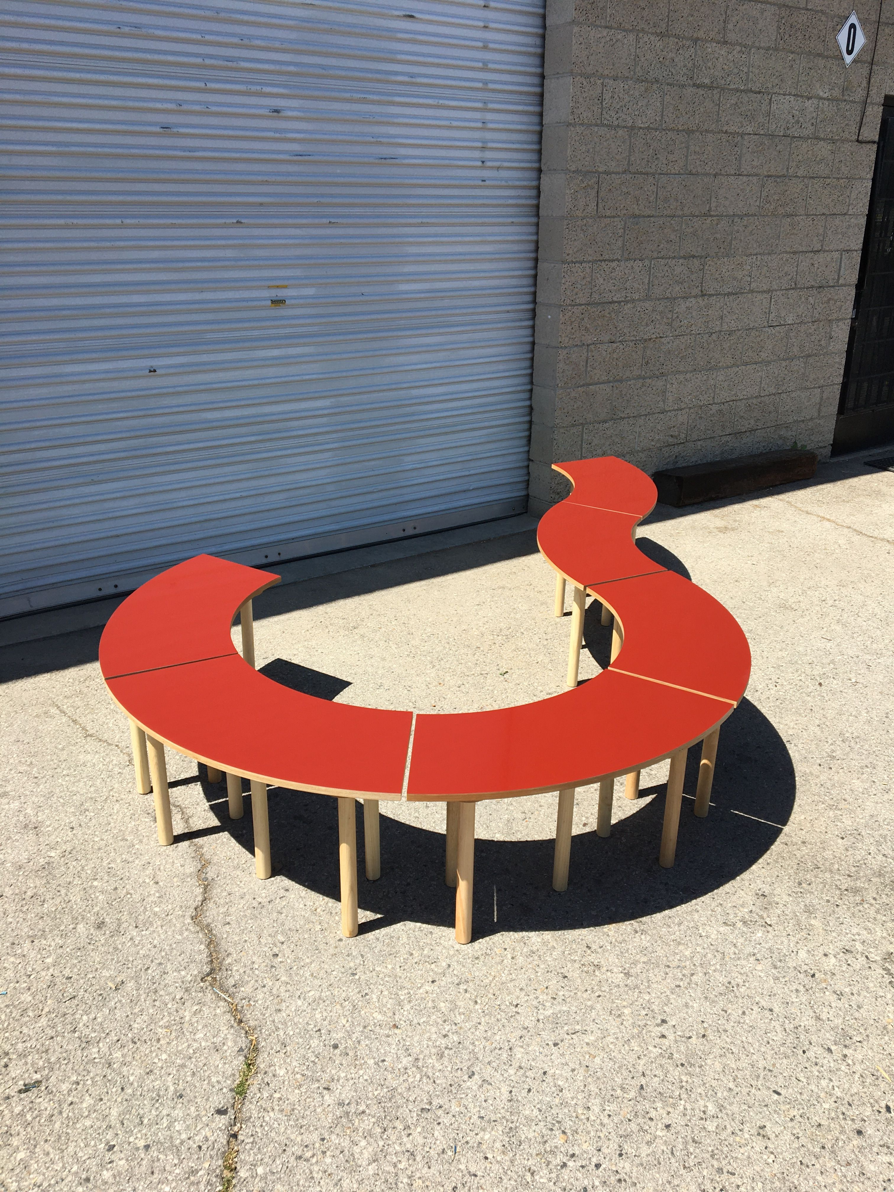 Circle Table + Bench Set product image 12