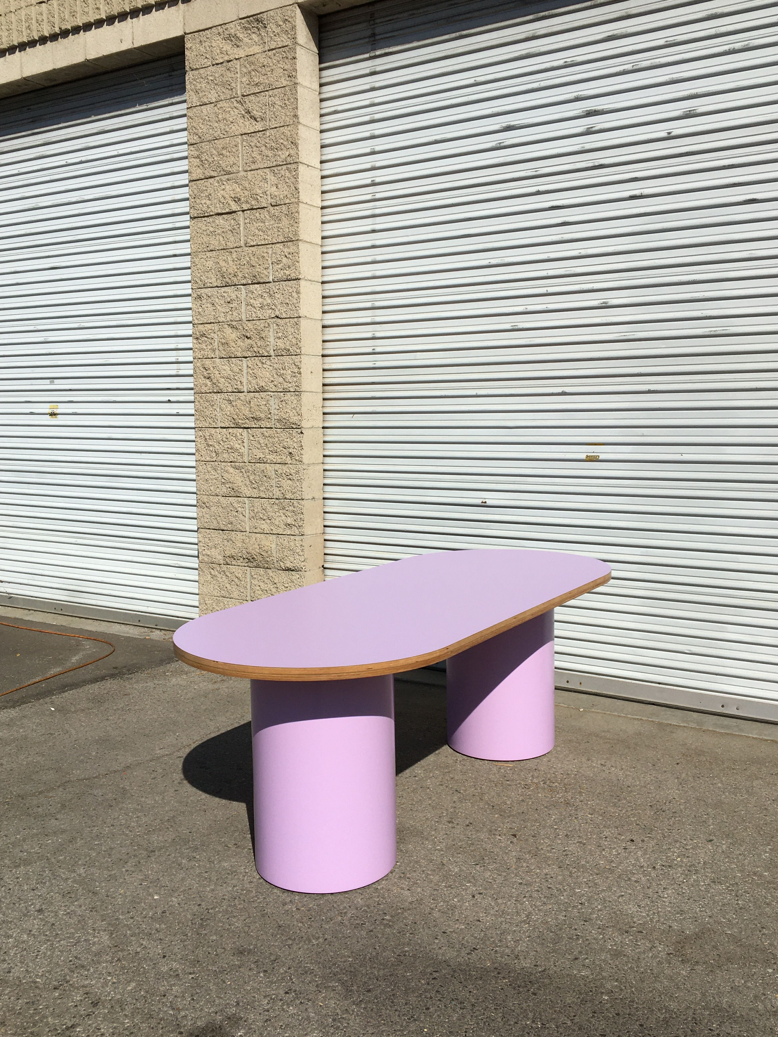 Pill-shaped Dining Table product image 1