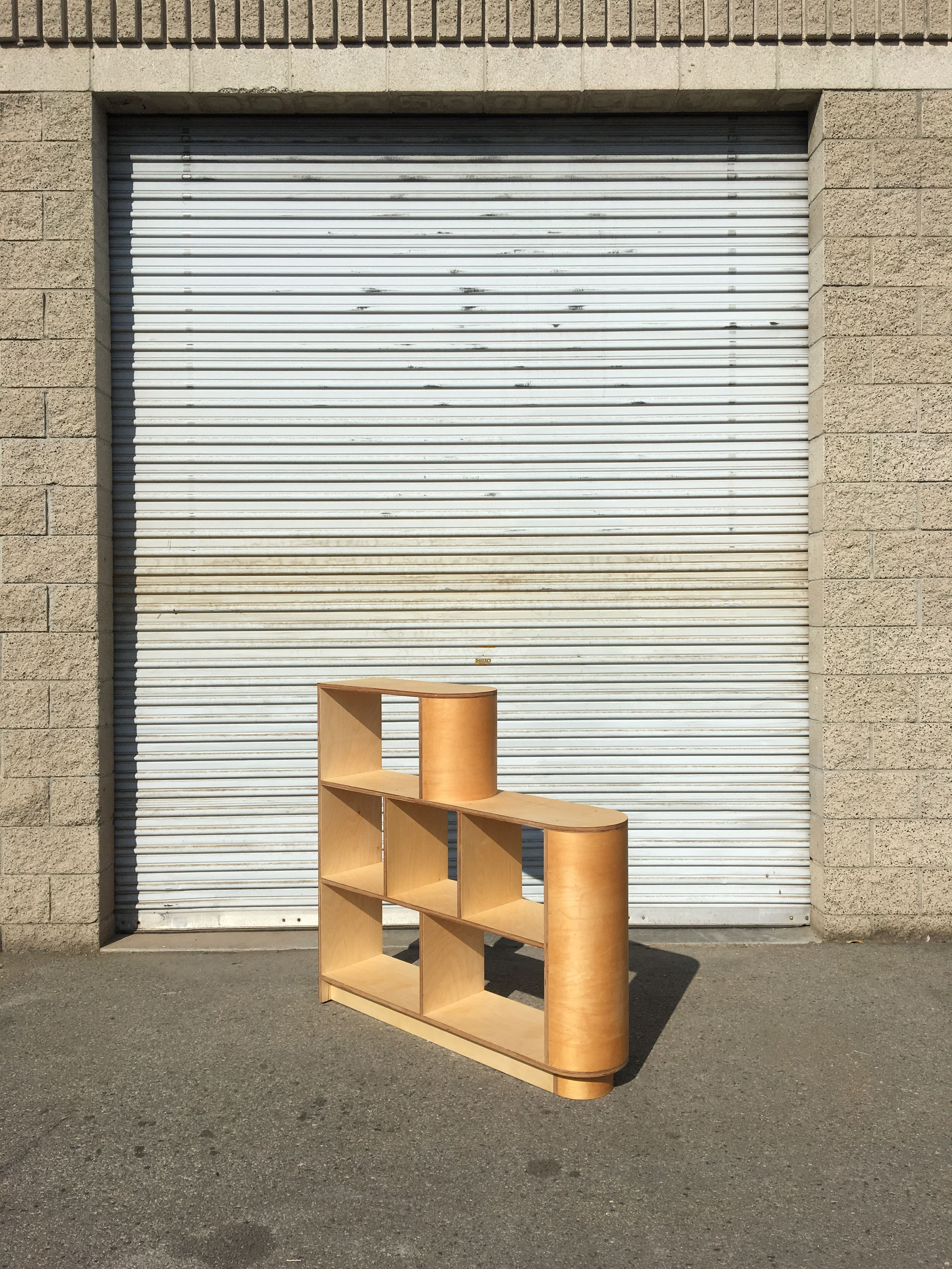 Tiered Half-Cylinder Storage Unit product image 1
