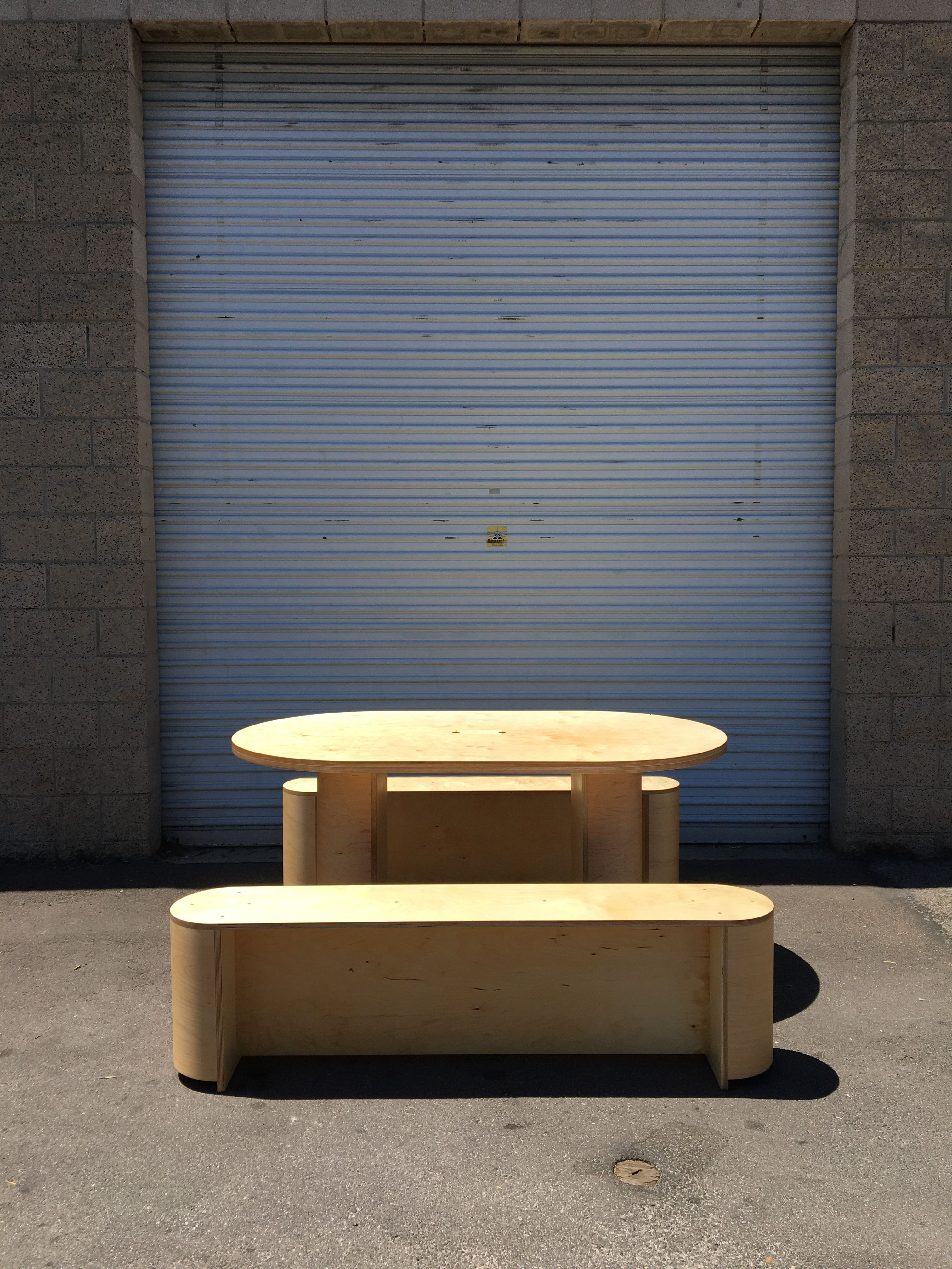 Dining Set with Center Slot product image 1