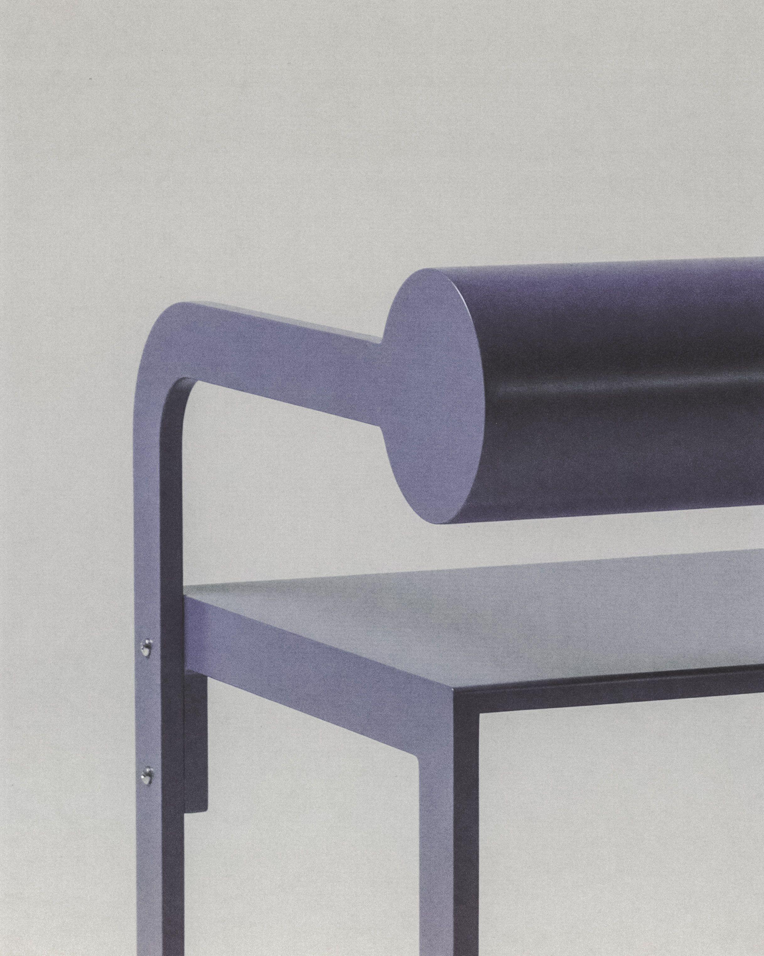 Purple Cylinder Back Arm product image 0