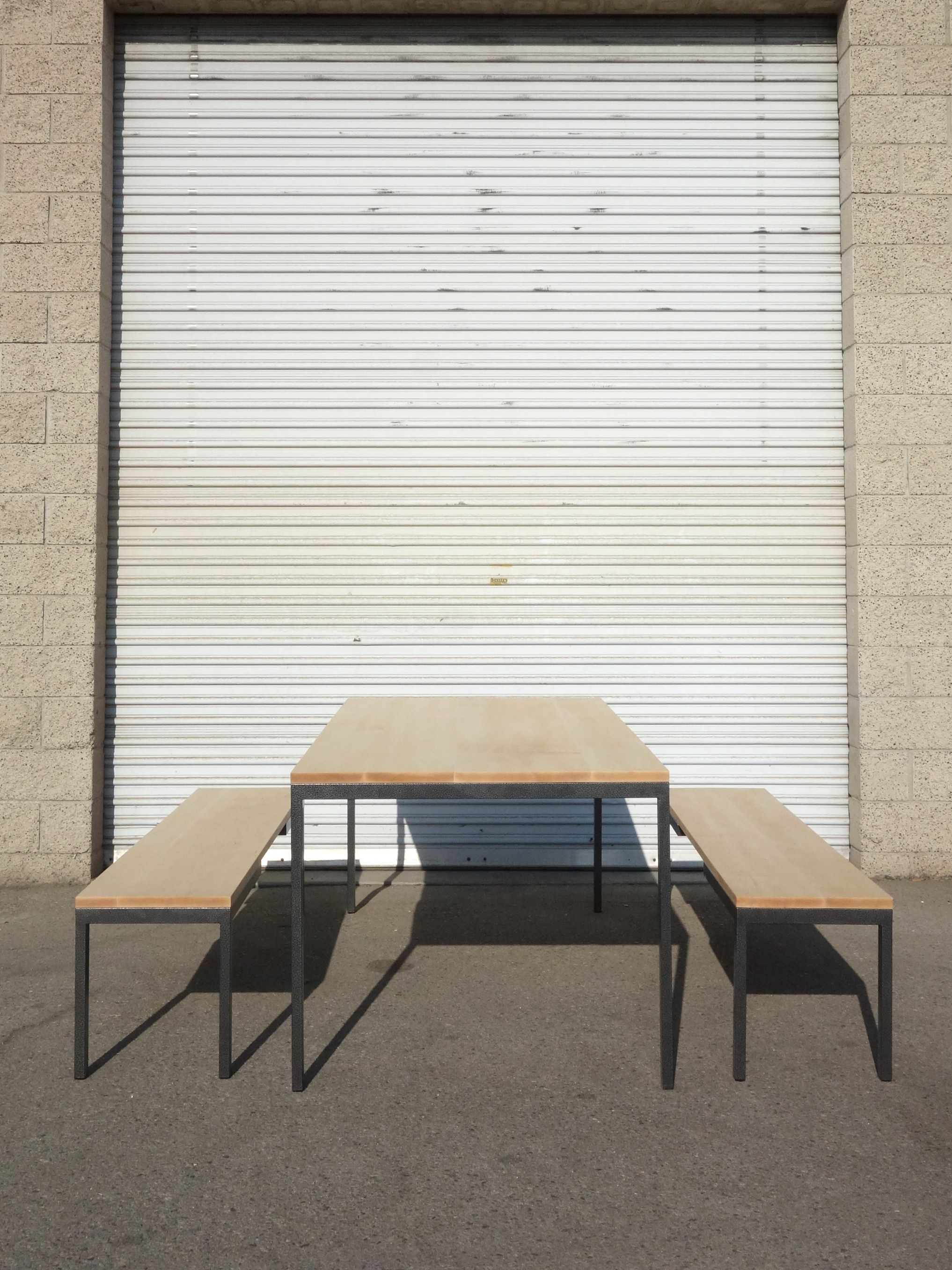 Metal and Maple Dining Set product image 2