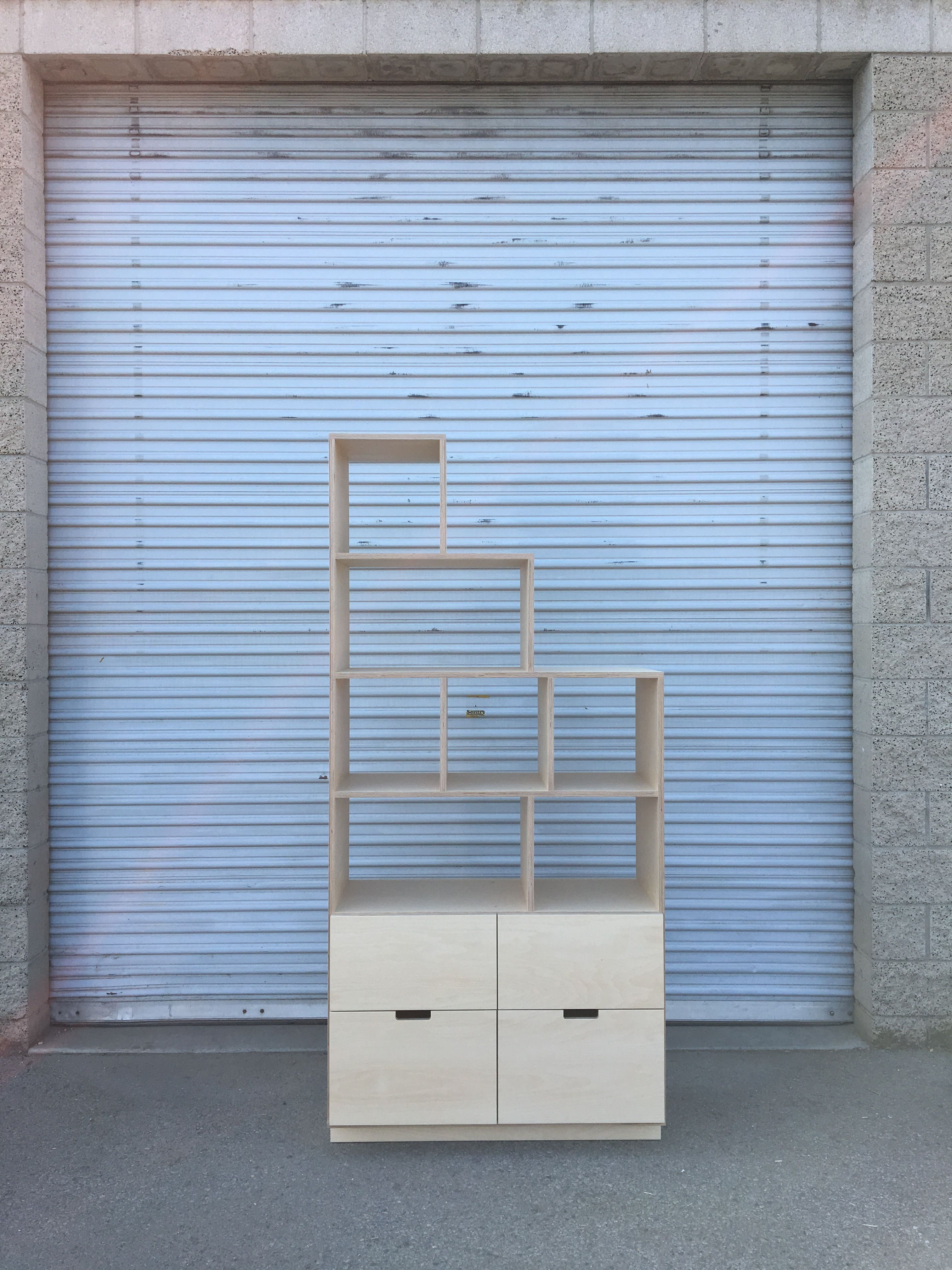 Shelving Unit with Drawers product image 0
