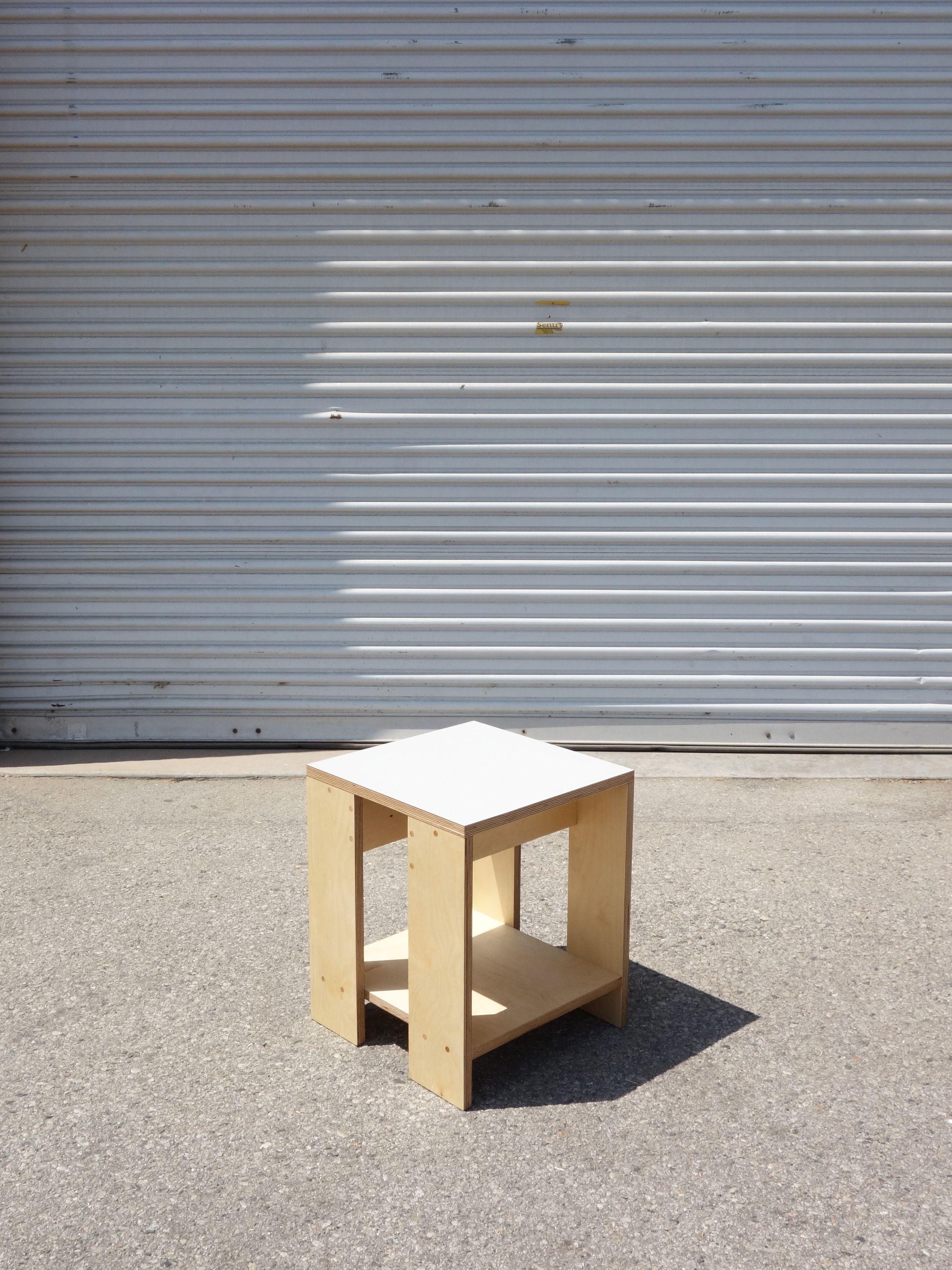 Square Shelf Stool product image 0