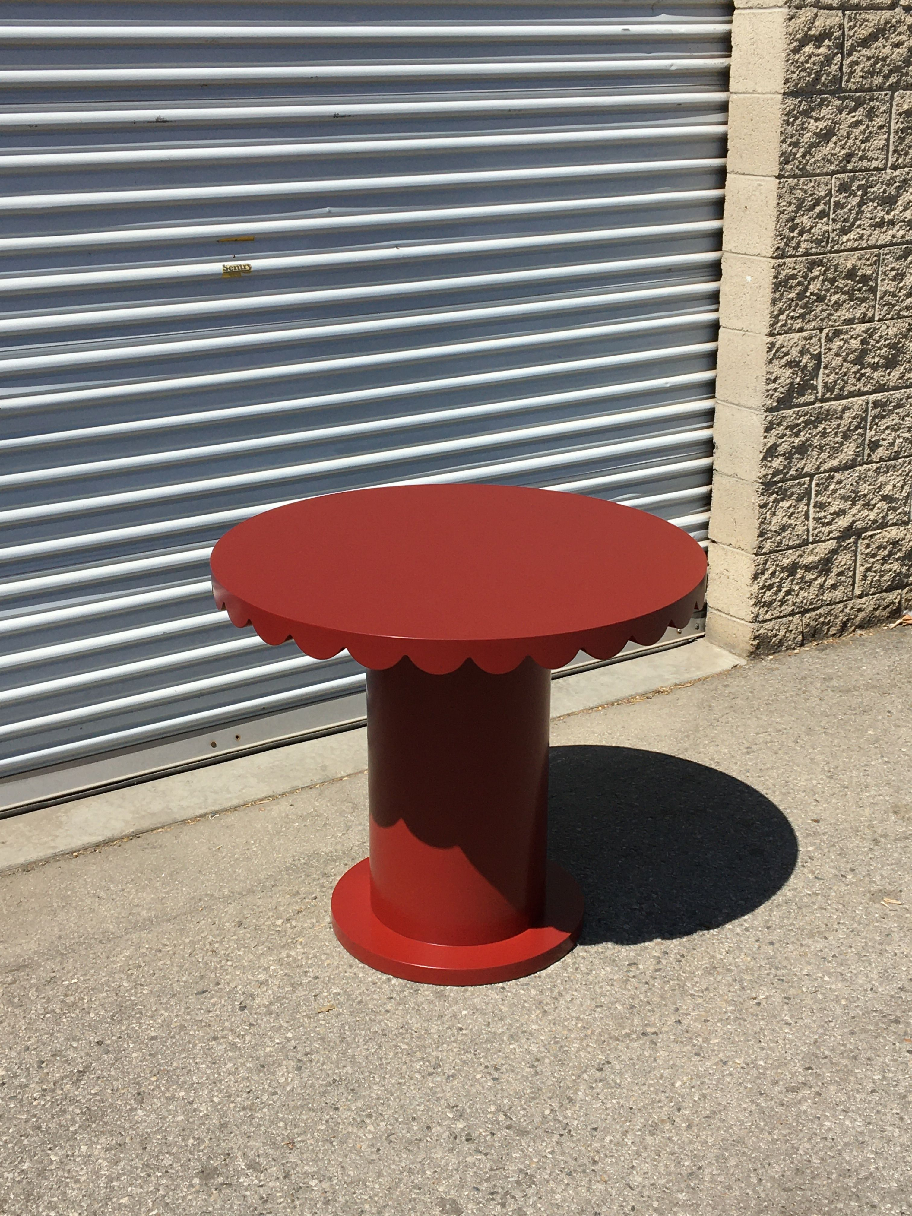 Scallop Skirt Table I product image 0