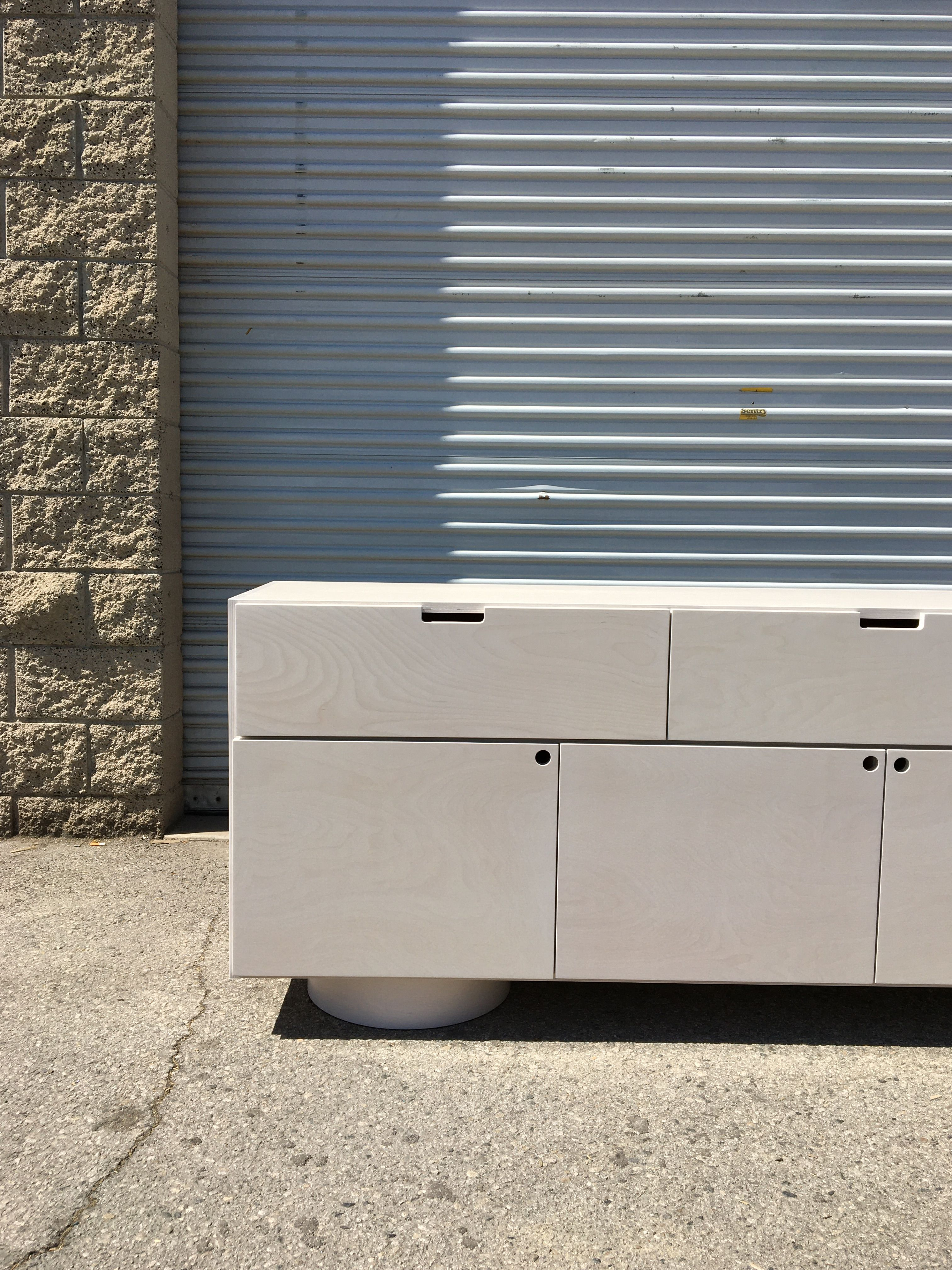 White Stain Credenza product image 3