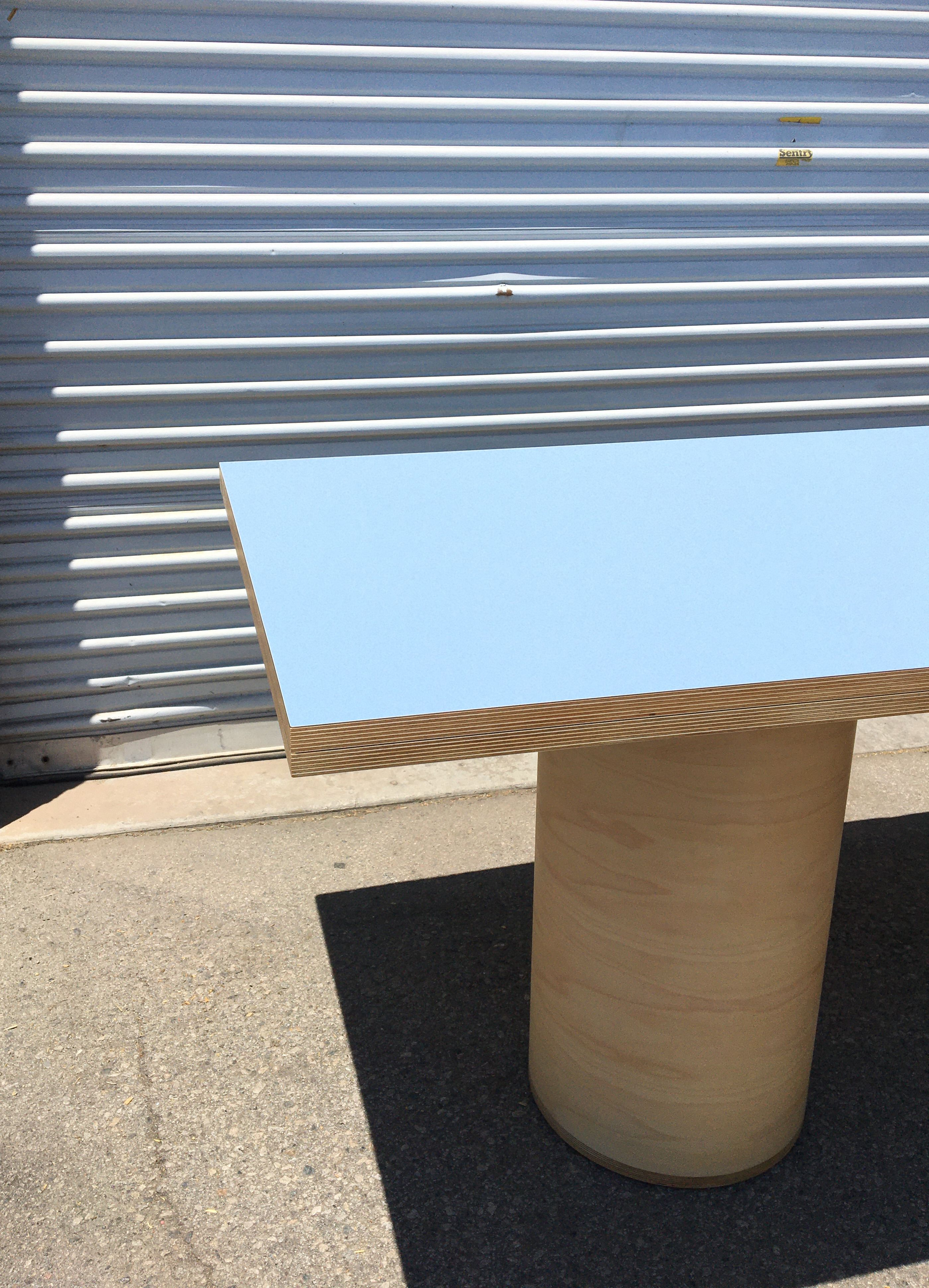 Cylinder Leg Dining Table product image 3