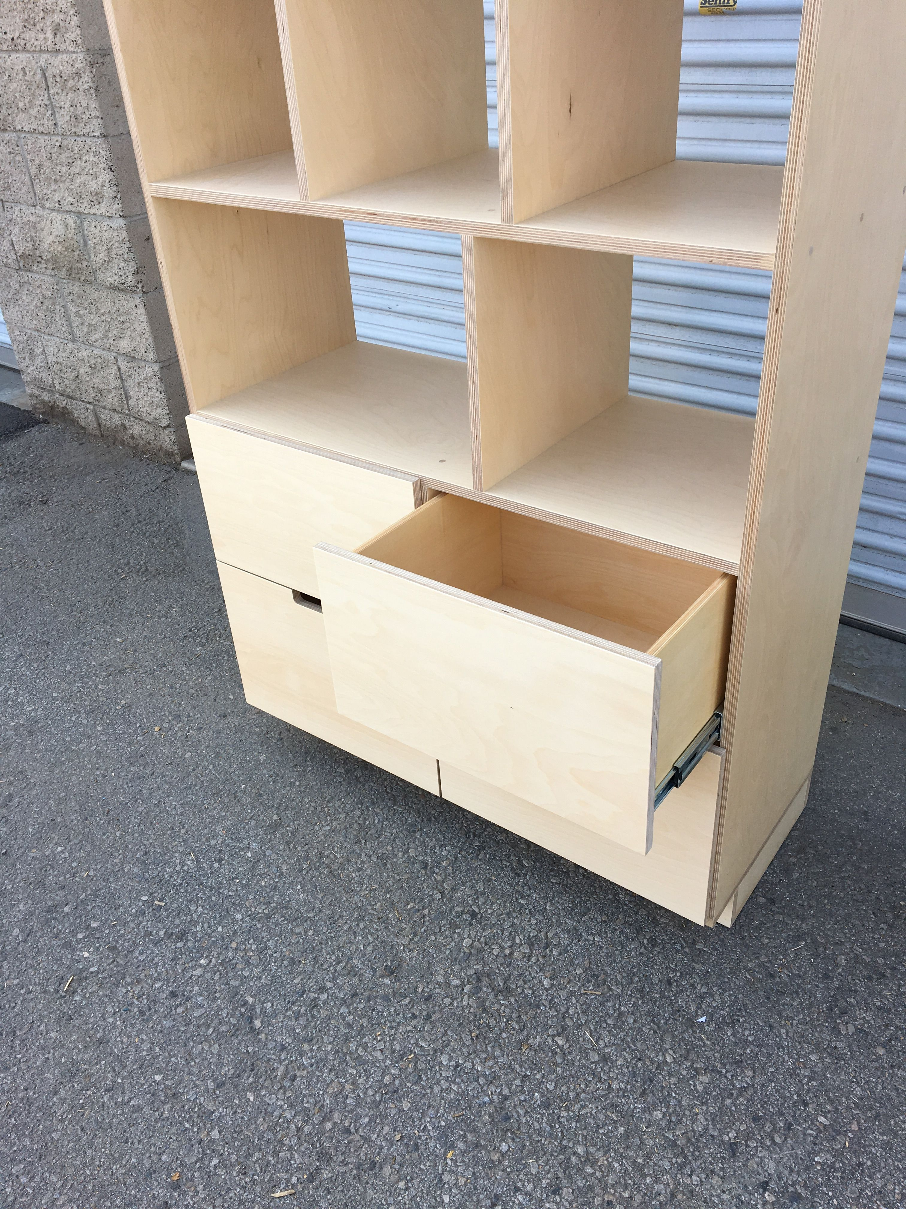Shelving Unit with Drawers product image 3