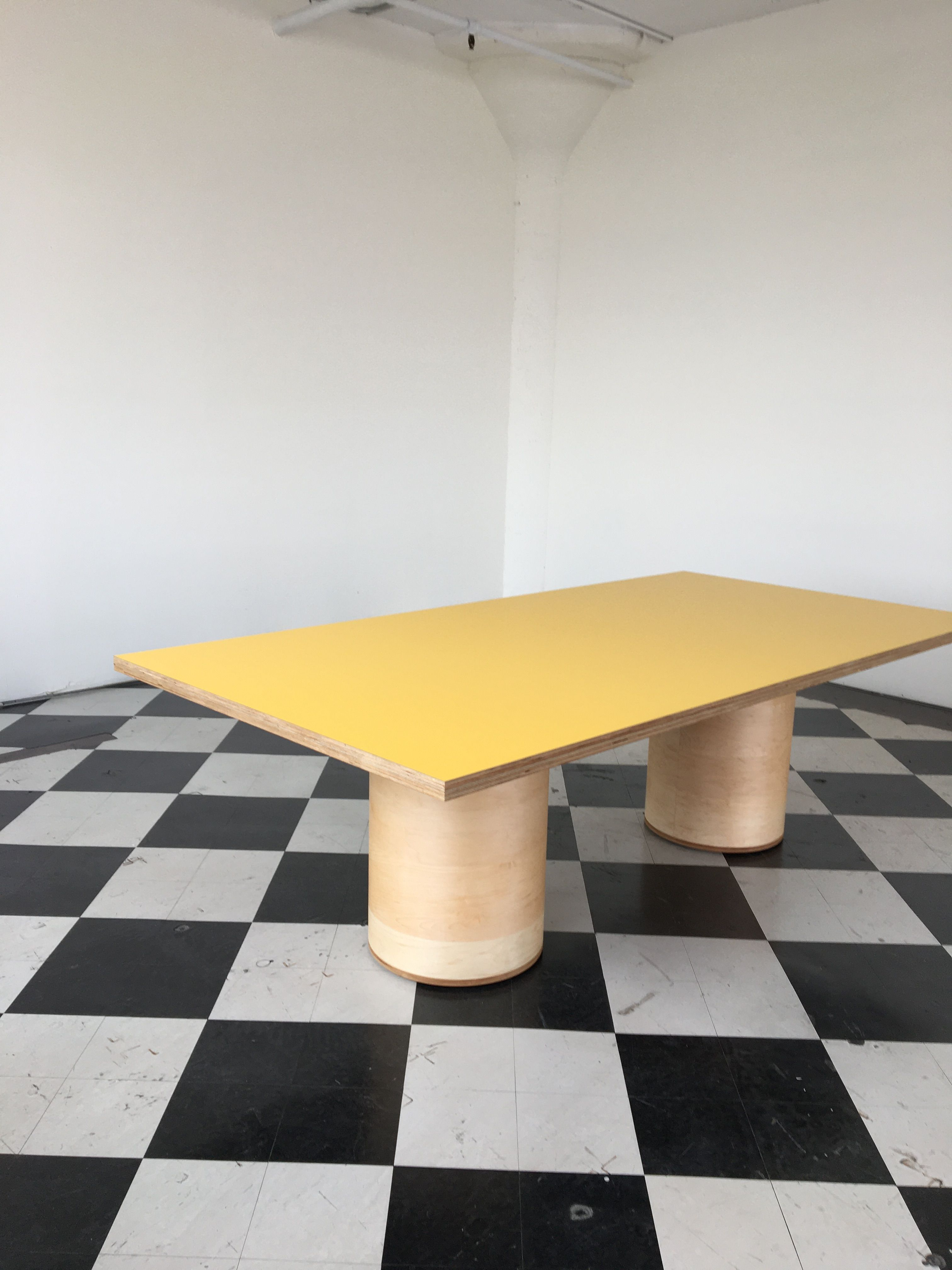 Two Cylinder Conference Table product image 1