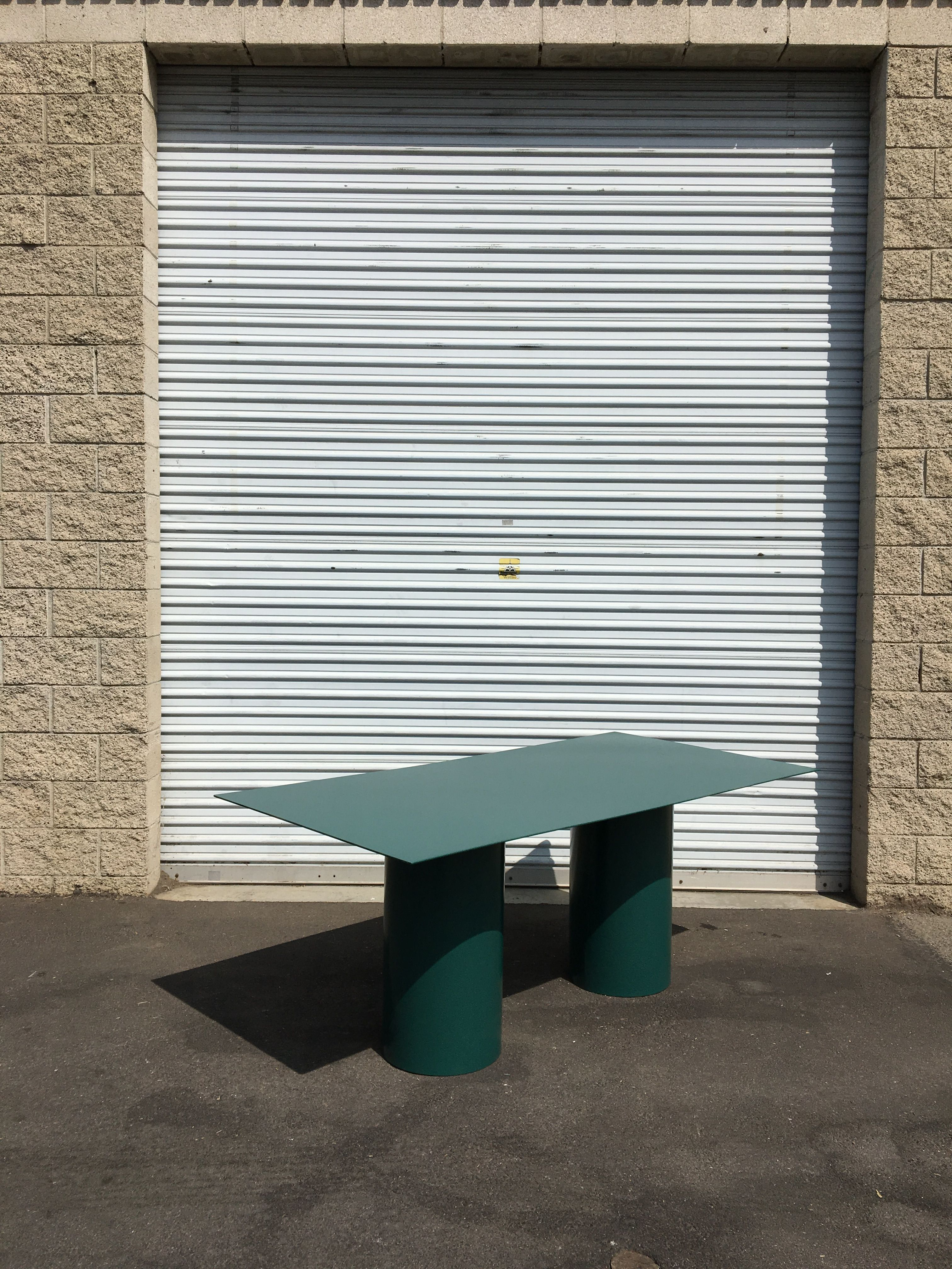 Steel Cylinder Leg Table product image 2