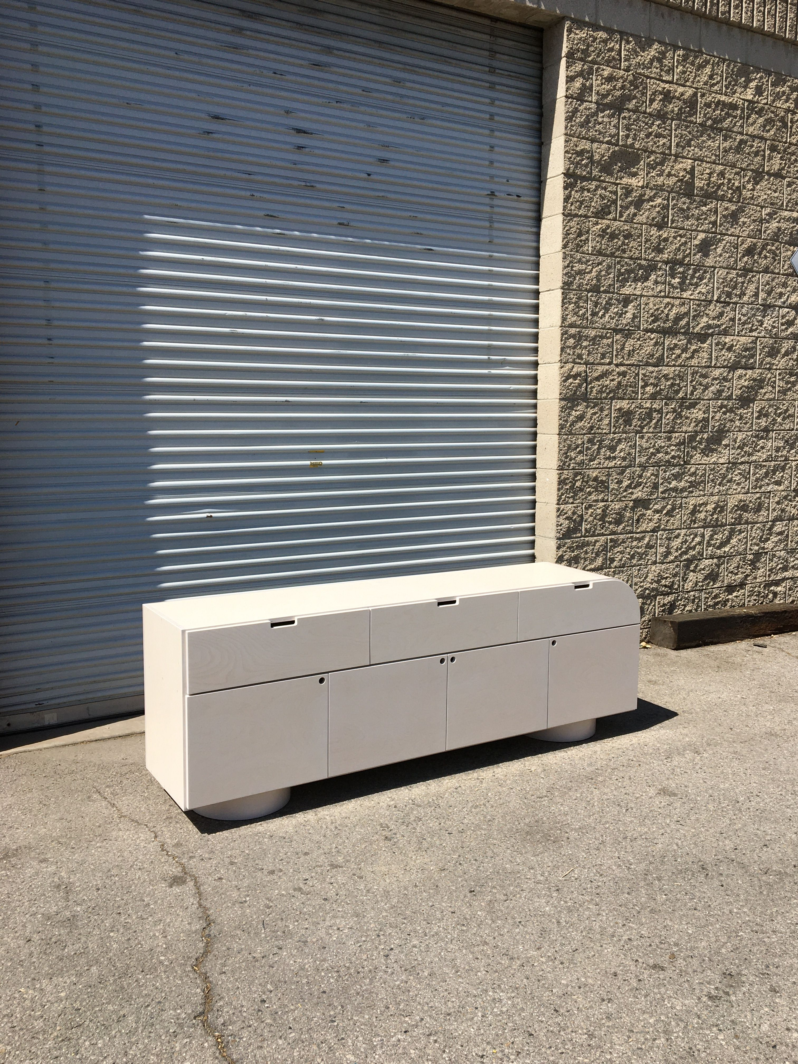 White Stain Credenza product image 9