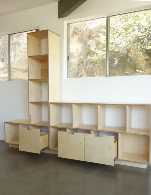 Record Shelving Unit product image 1
