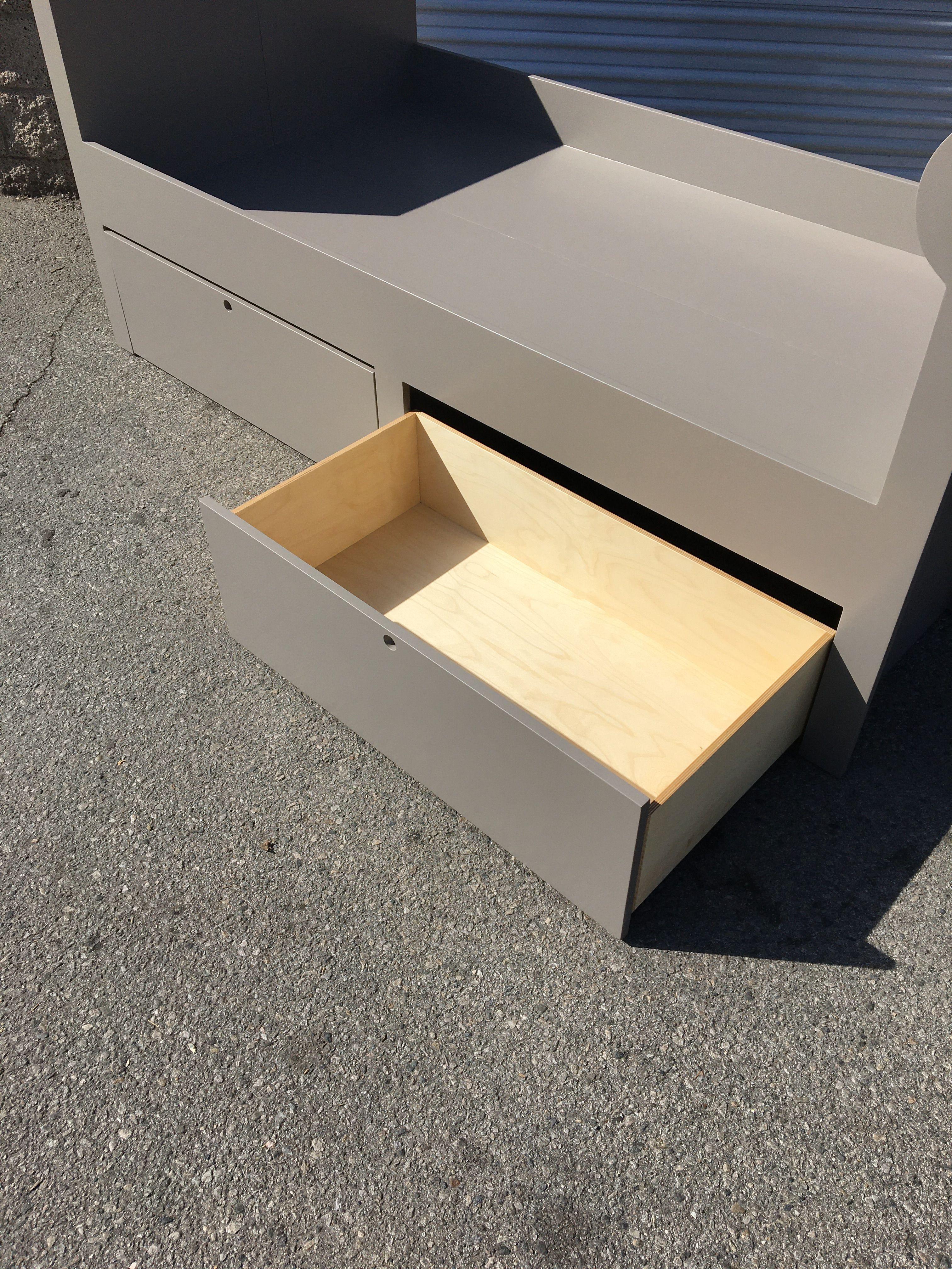 Cylinder Bed - Drawers product image 5